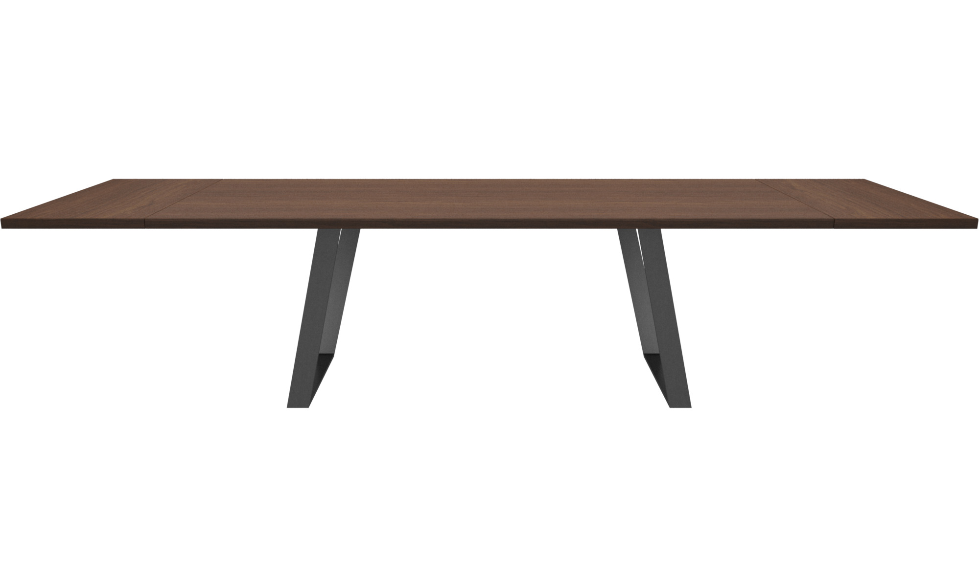 Dining tables - Vancouver table with supplementary tabletop