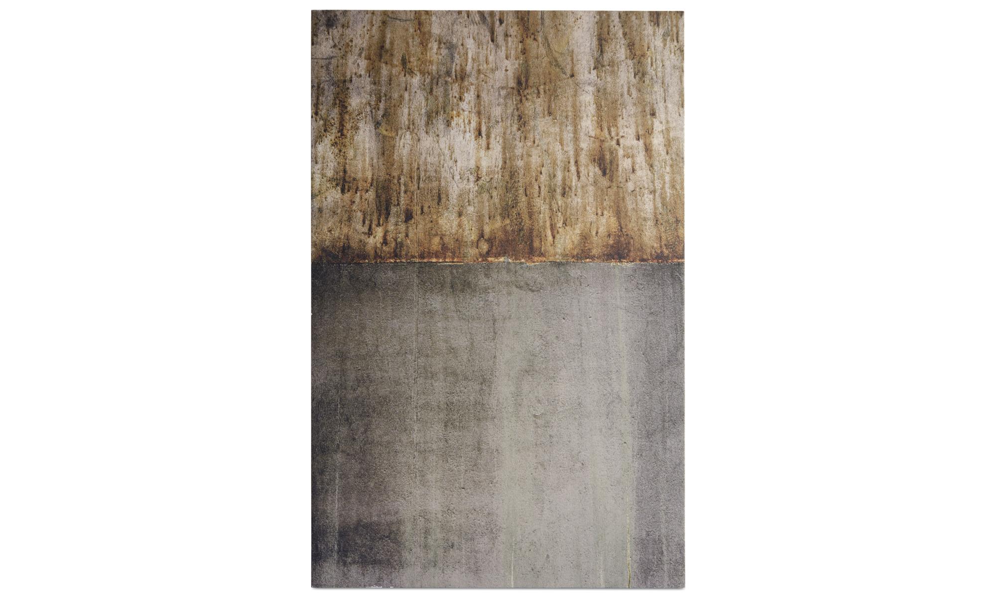 Tavlor - Magic light 3 betongkonst - Grå - Betong