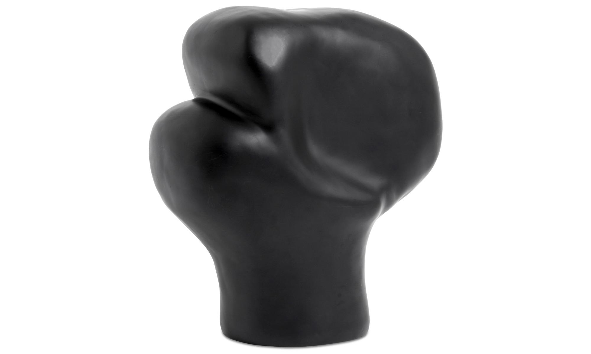 Dekoracja - Rzeźba Unreal - Czarny - Plastik