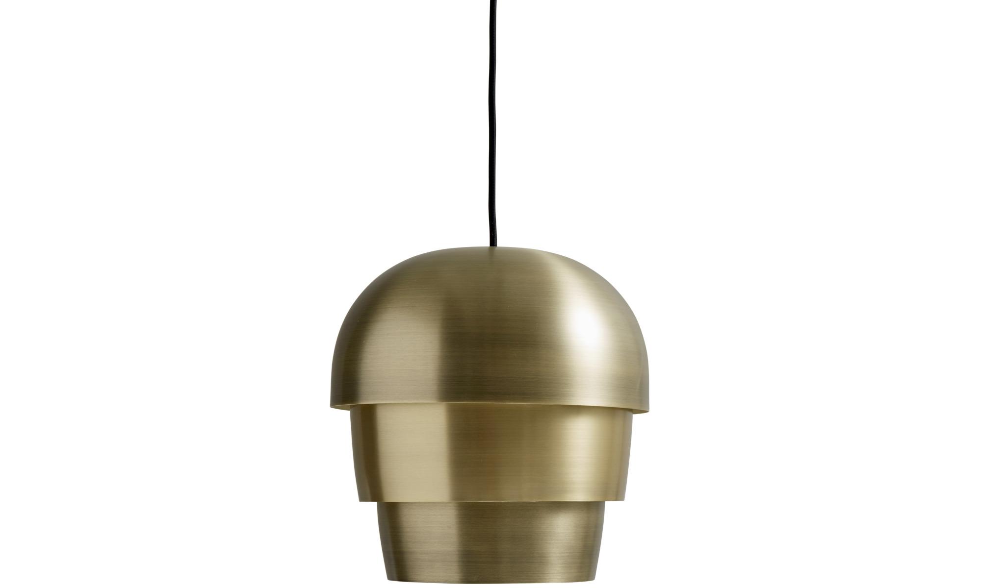 Lamps - Pine cone pendant - Yellow - Metal