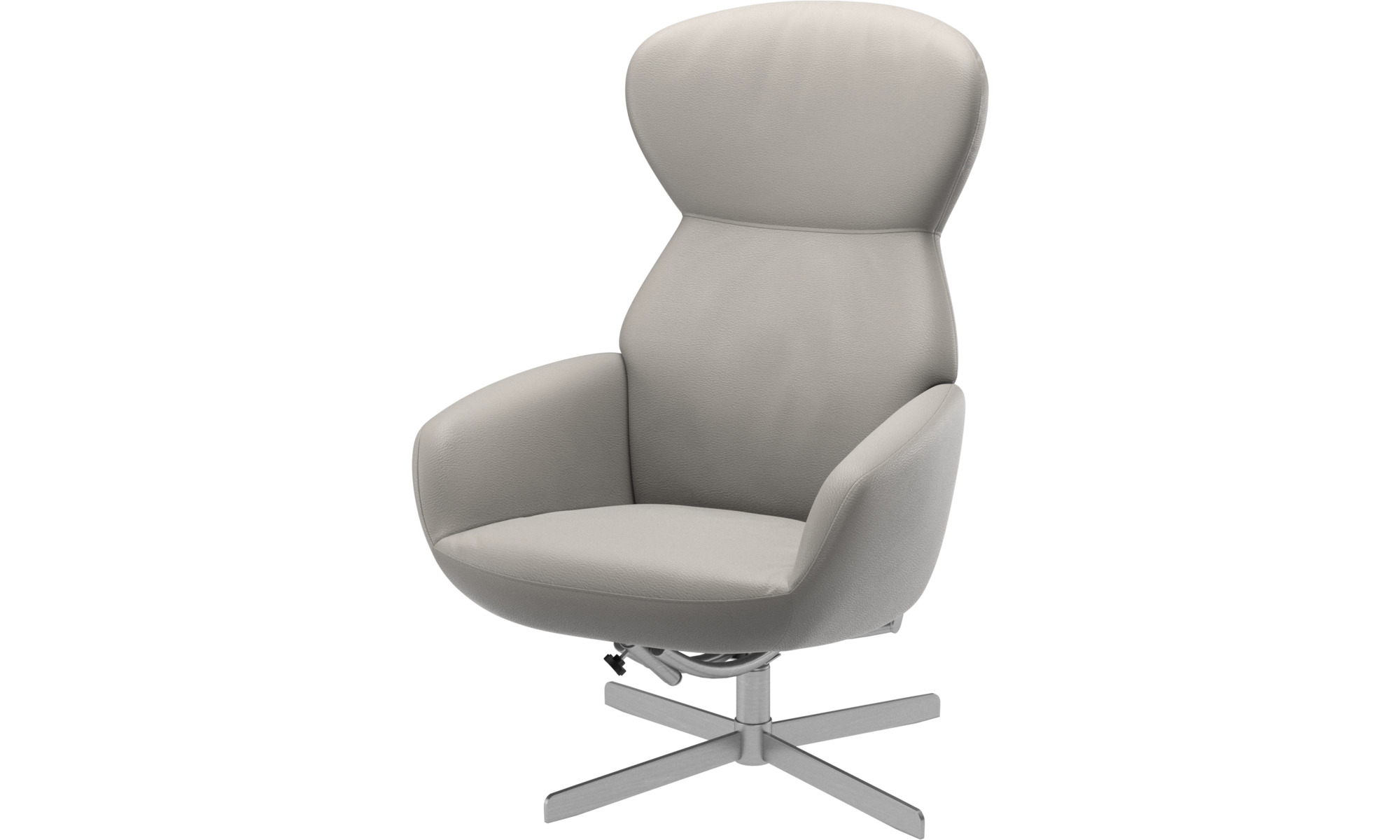 Armchairs - Athena chair with reclining back function and swivel base ...
