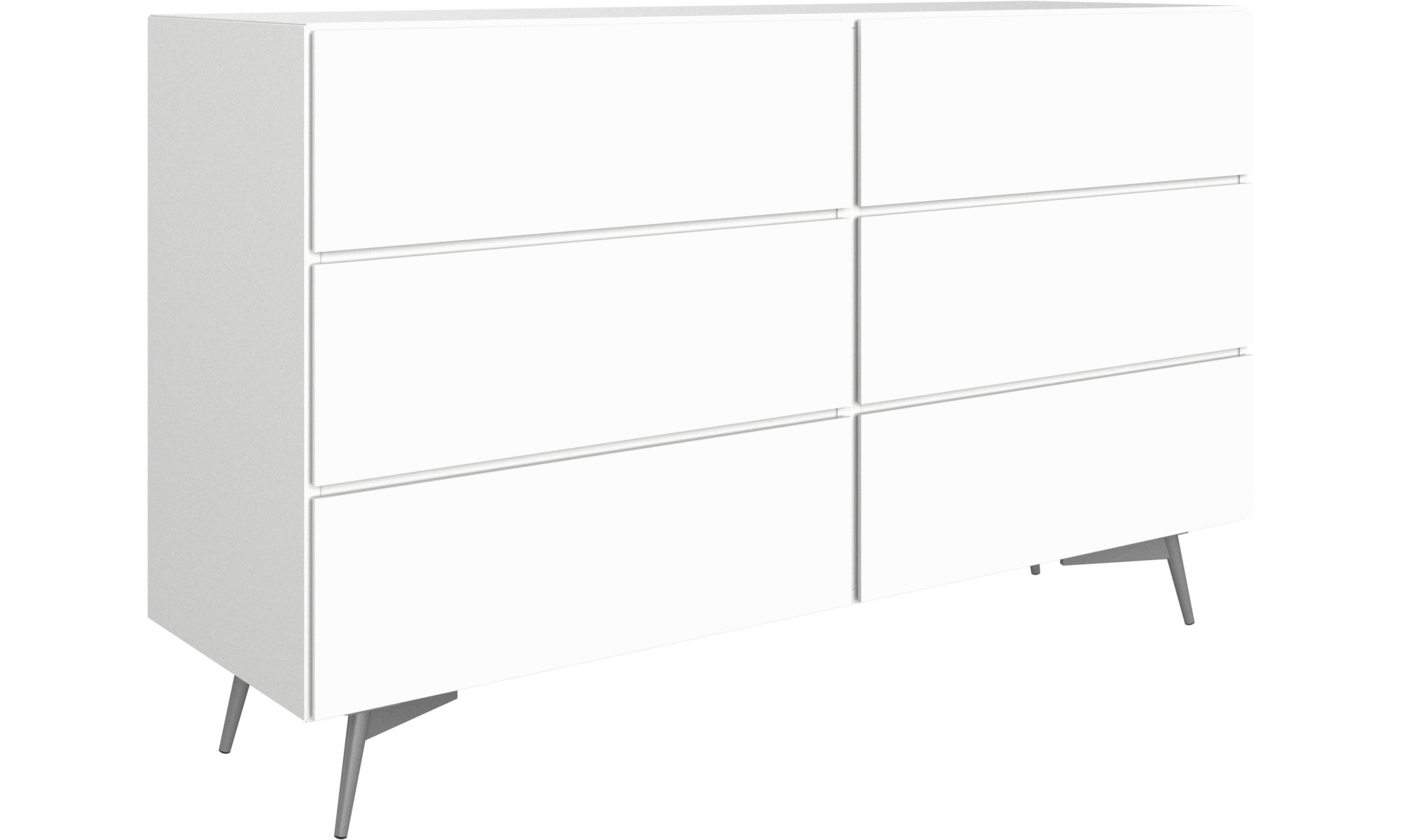 Of Drawers Lugano Double Dresser
