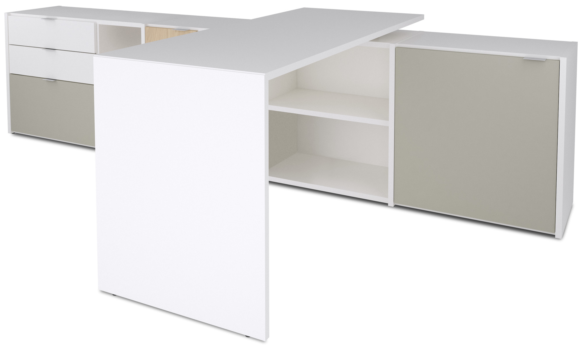 Desks Copenhagen Office System White Lacquered
