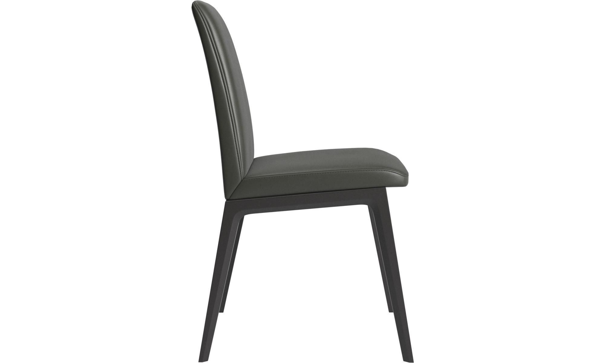 Verführerisch Stuhl Leder Grau Beste Wahl Esszimmerstühle - Anne - -