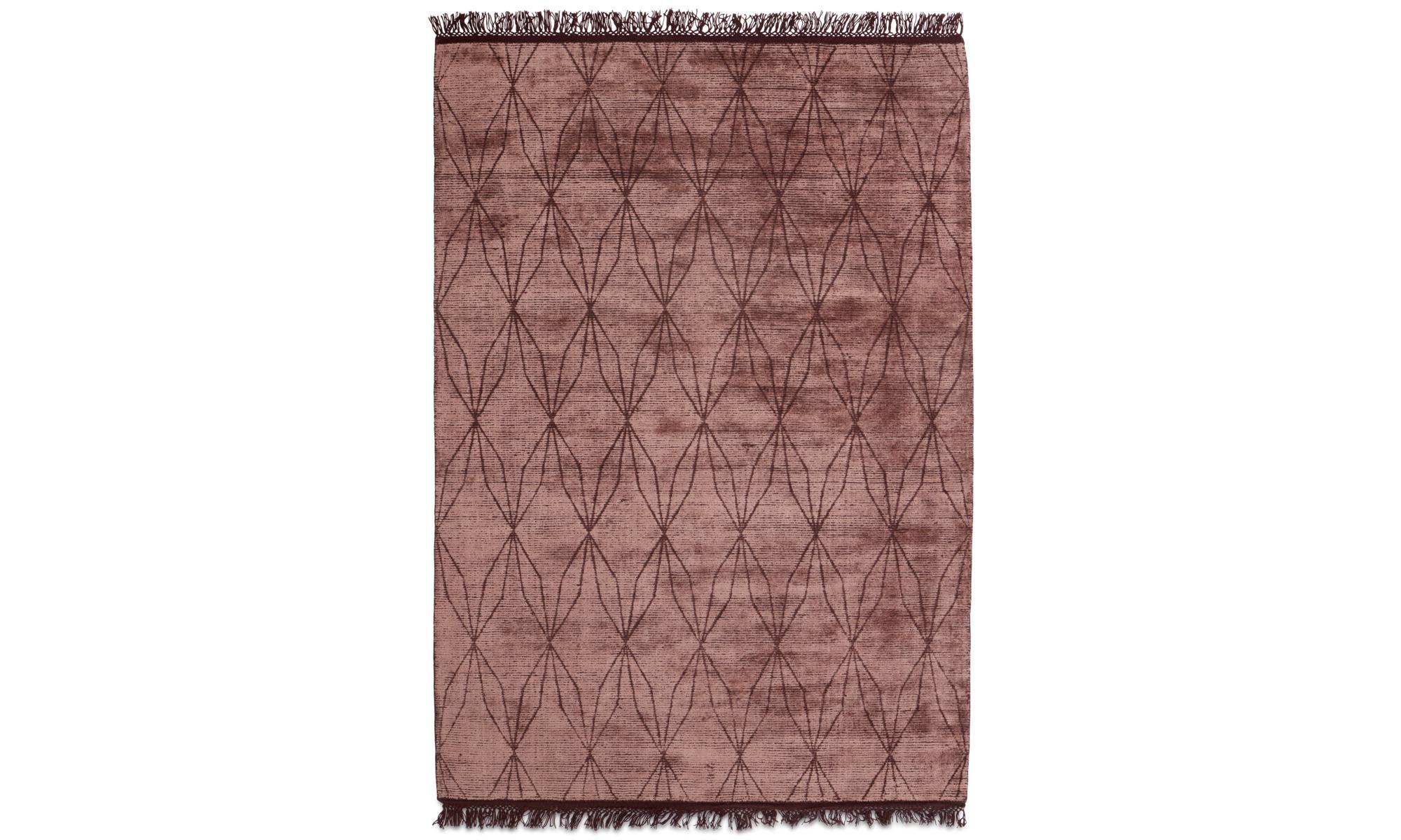 Teppiche - Depiction Teppich - rechteckig - Rot - Wolle