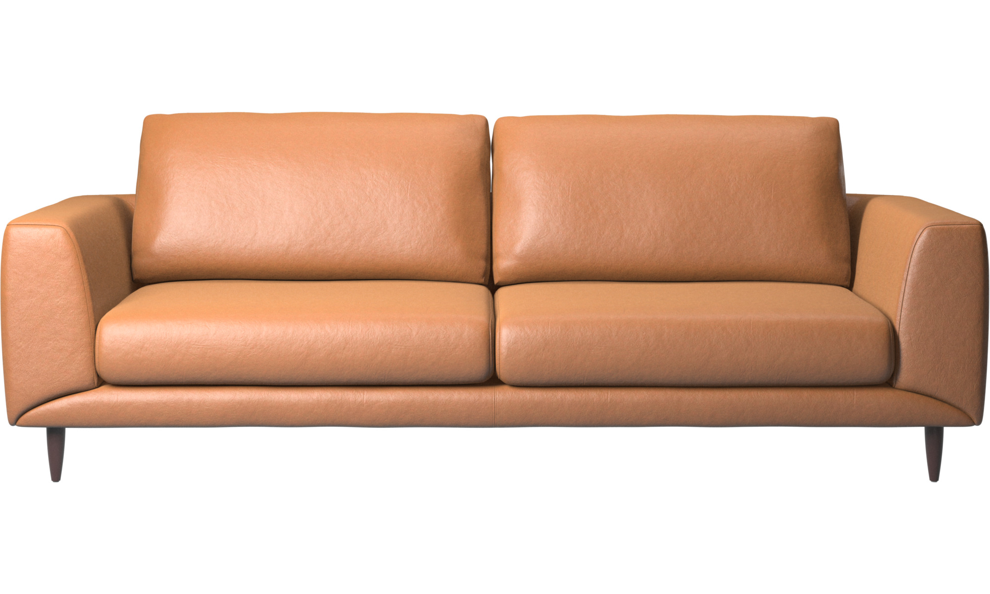 3 personers sofaer - Fargo sofa - Brun - Læder