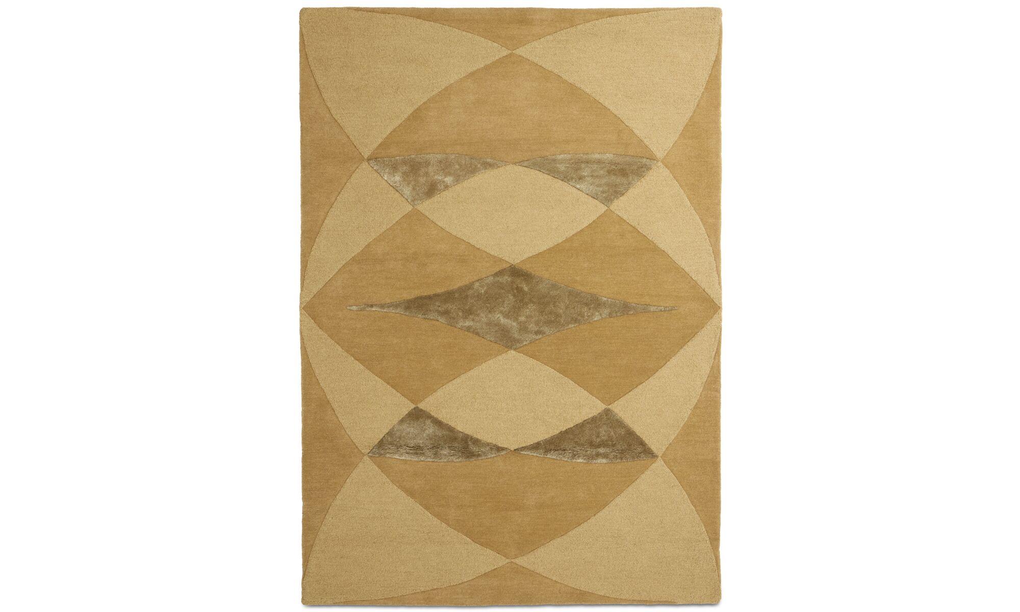 Teppiche - Unison Teppich - rechteckig - Gelb - Wolle