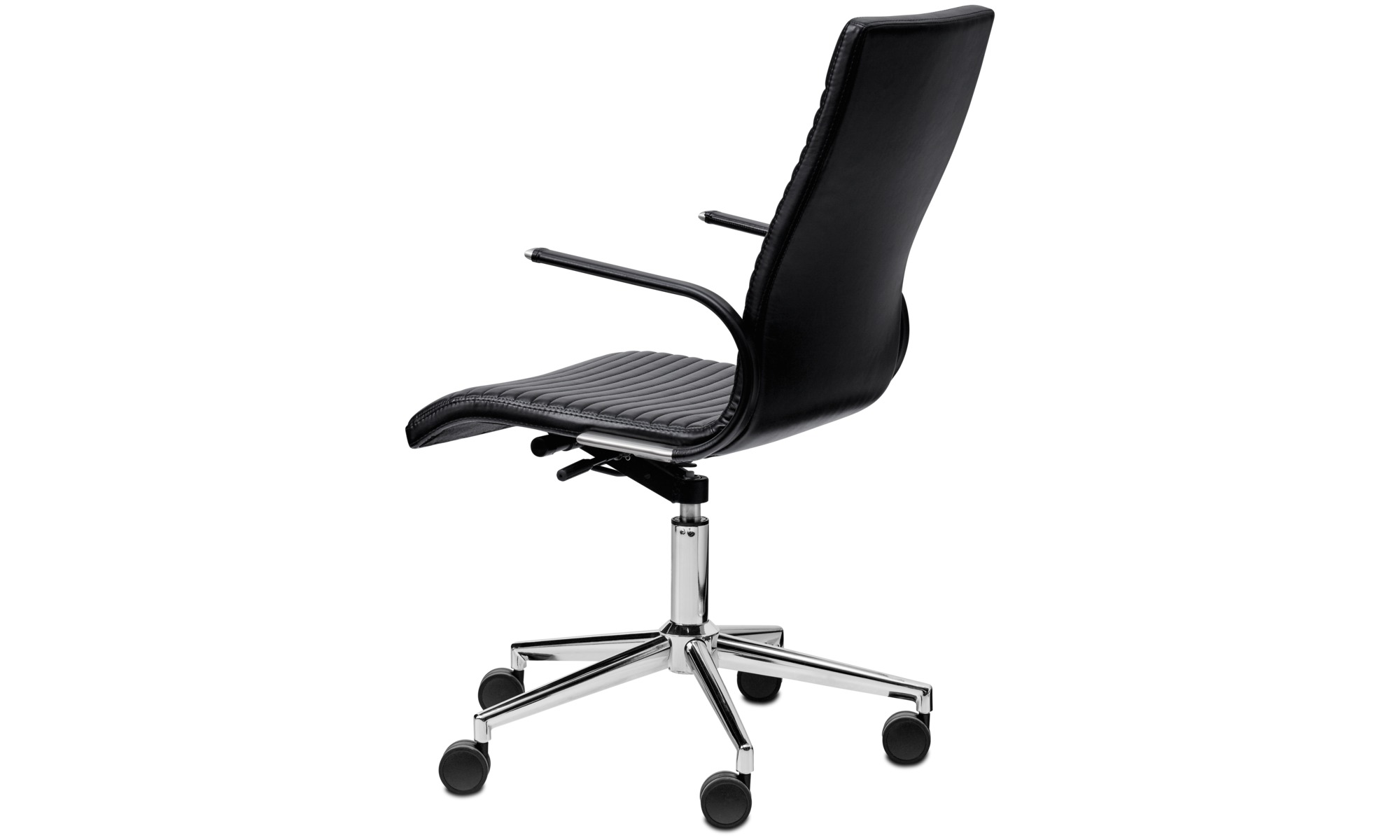 office chairs images. Office Chairs - Ferrara Chair Black Leather Images
