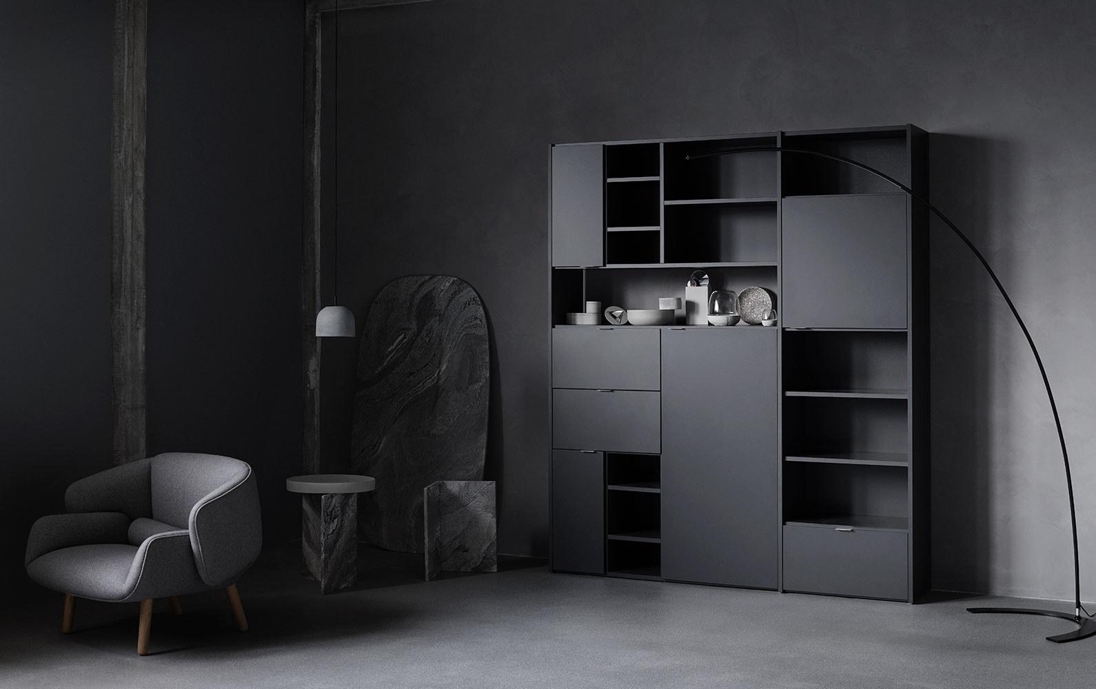 Designs by Morten Georgsen - Copenhagen 壁面収納