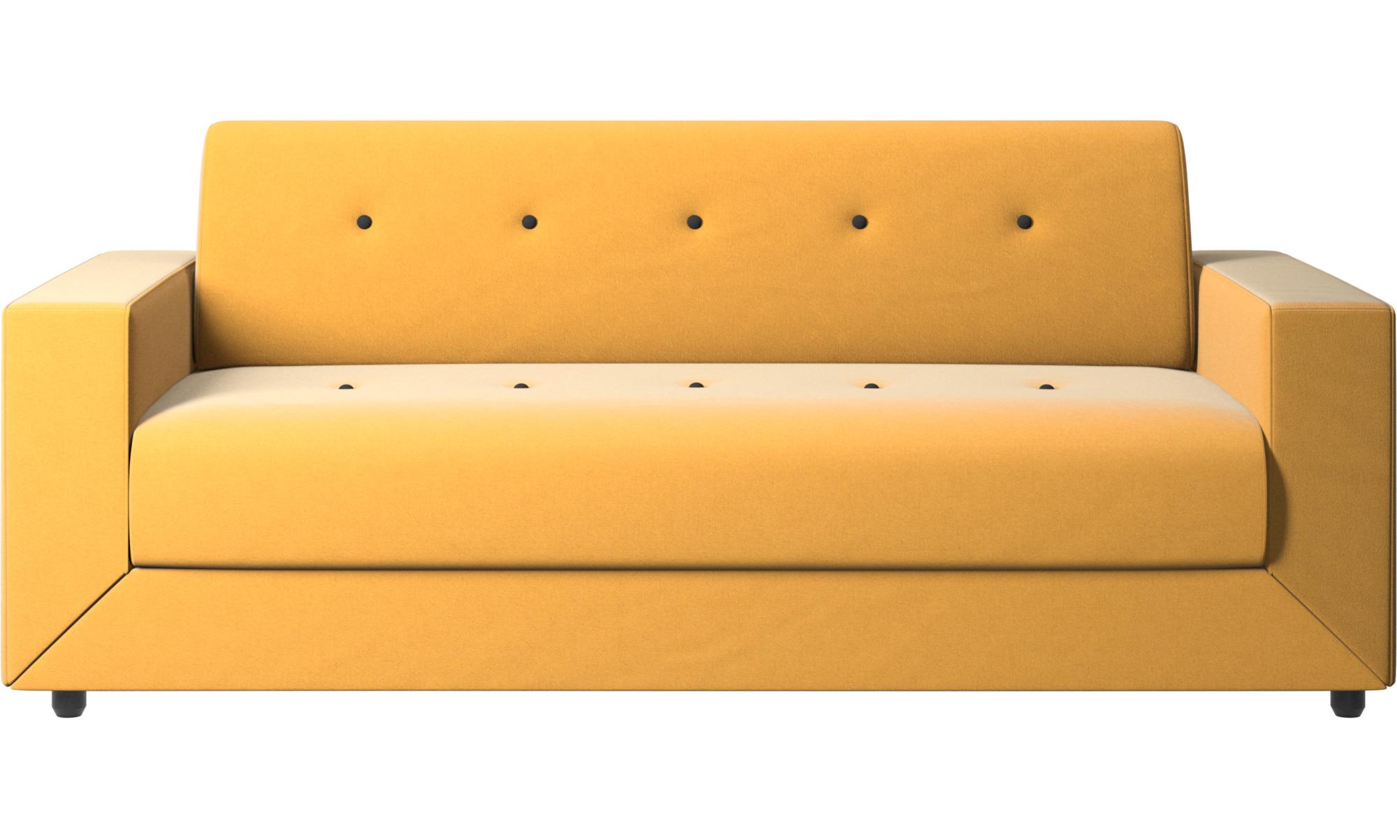 Sofás cama - Sofá cama Stockholm - En amarillo - Tela
