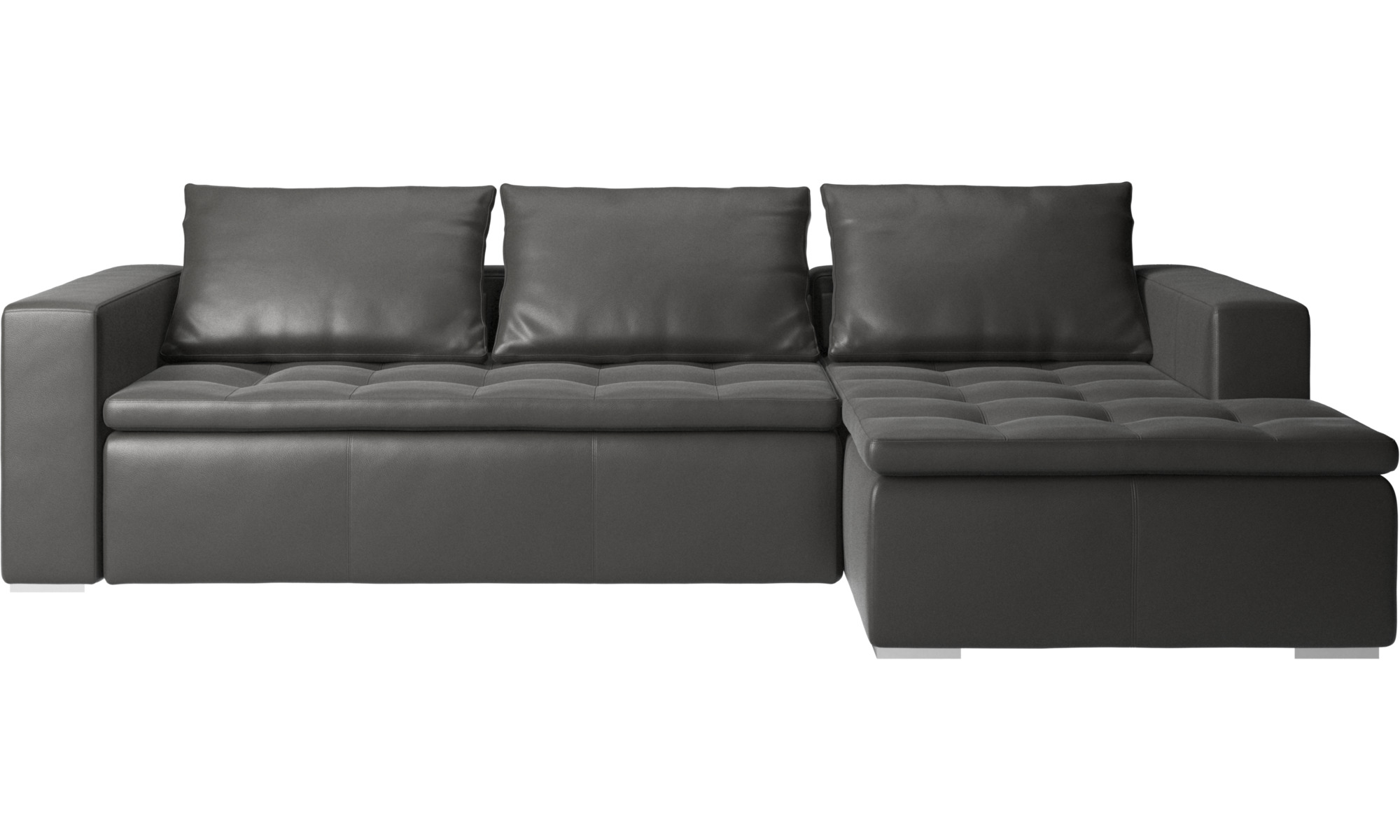 chaise longue sofas mezzo sofa with resting unit boconcept. Black Bedroom Furniture Sets. Home Design Ideas