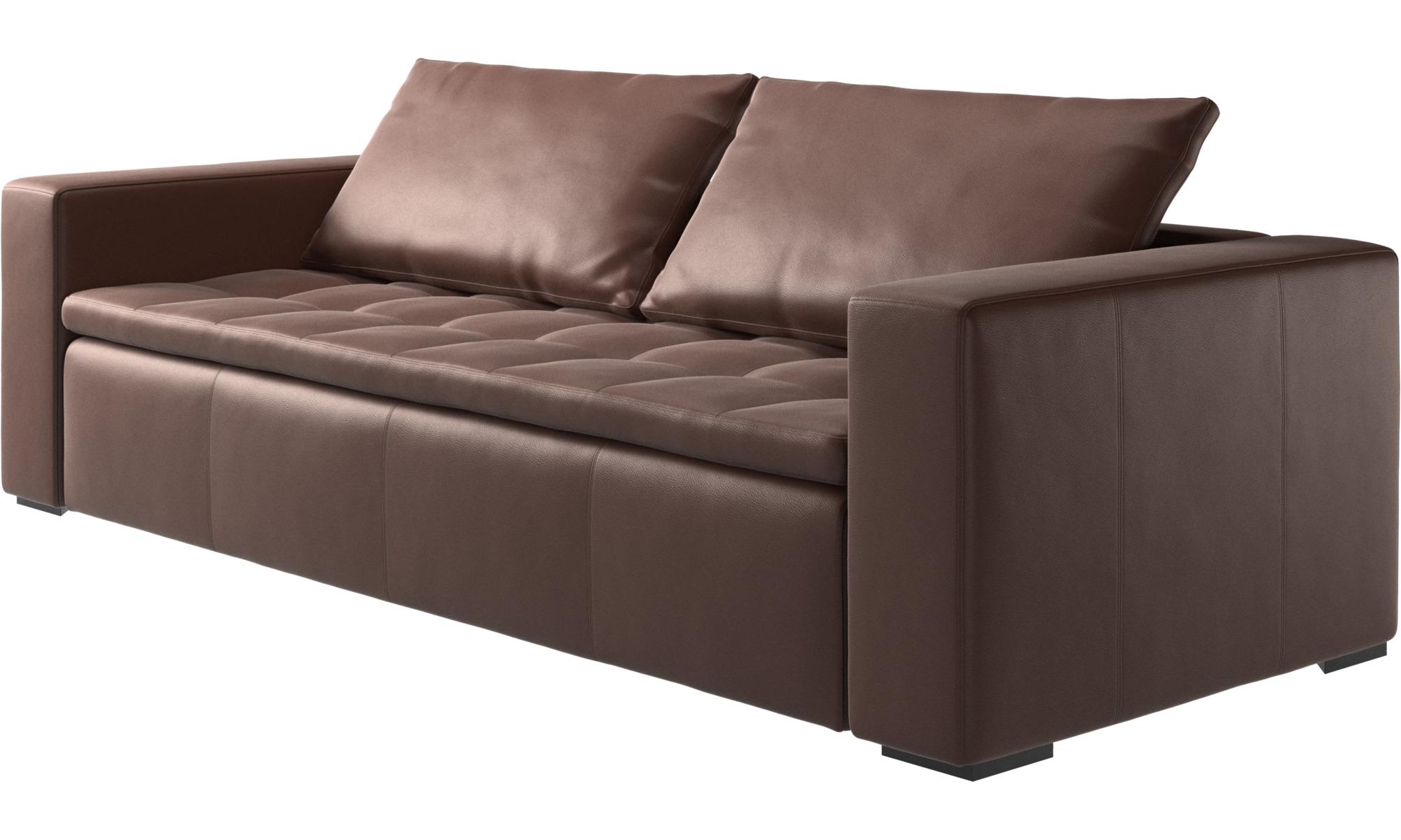 3 seater sofas mezzo sofa boconcept - Sofa de piel ...