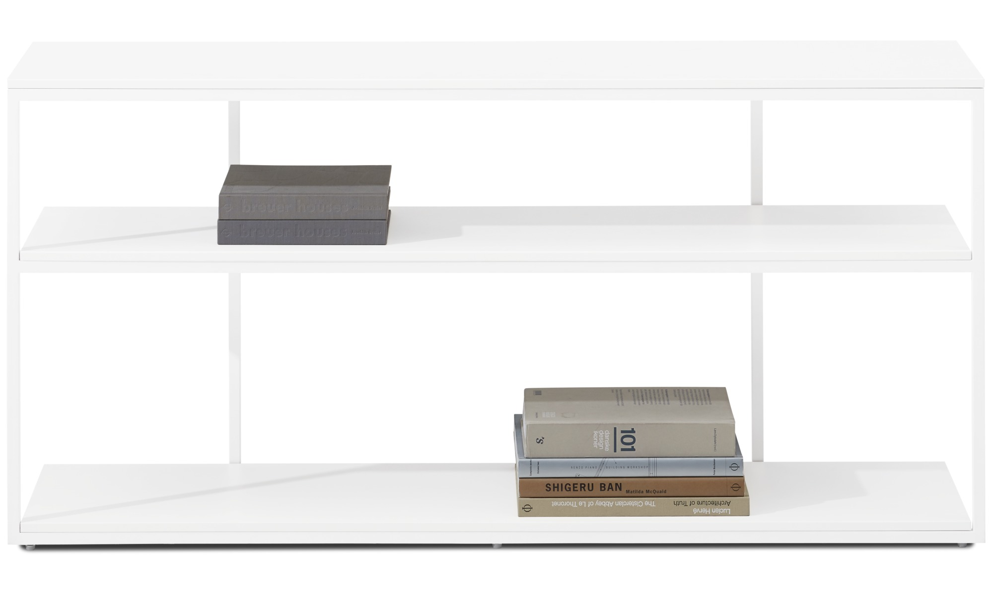 Wall Systems   Bordeaux Console Table   Square   White   Lacquered ...