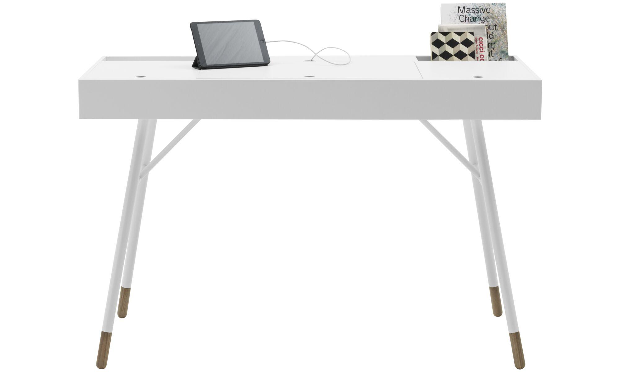 Desks - Cupertino desk - rectangular - White - Lacquered