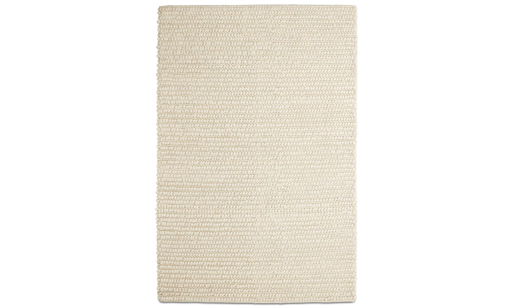 Rugs - Nordic rug - rectangular - Beige - Wool