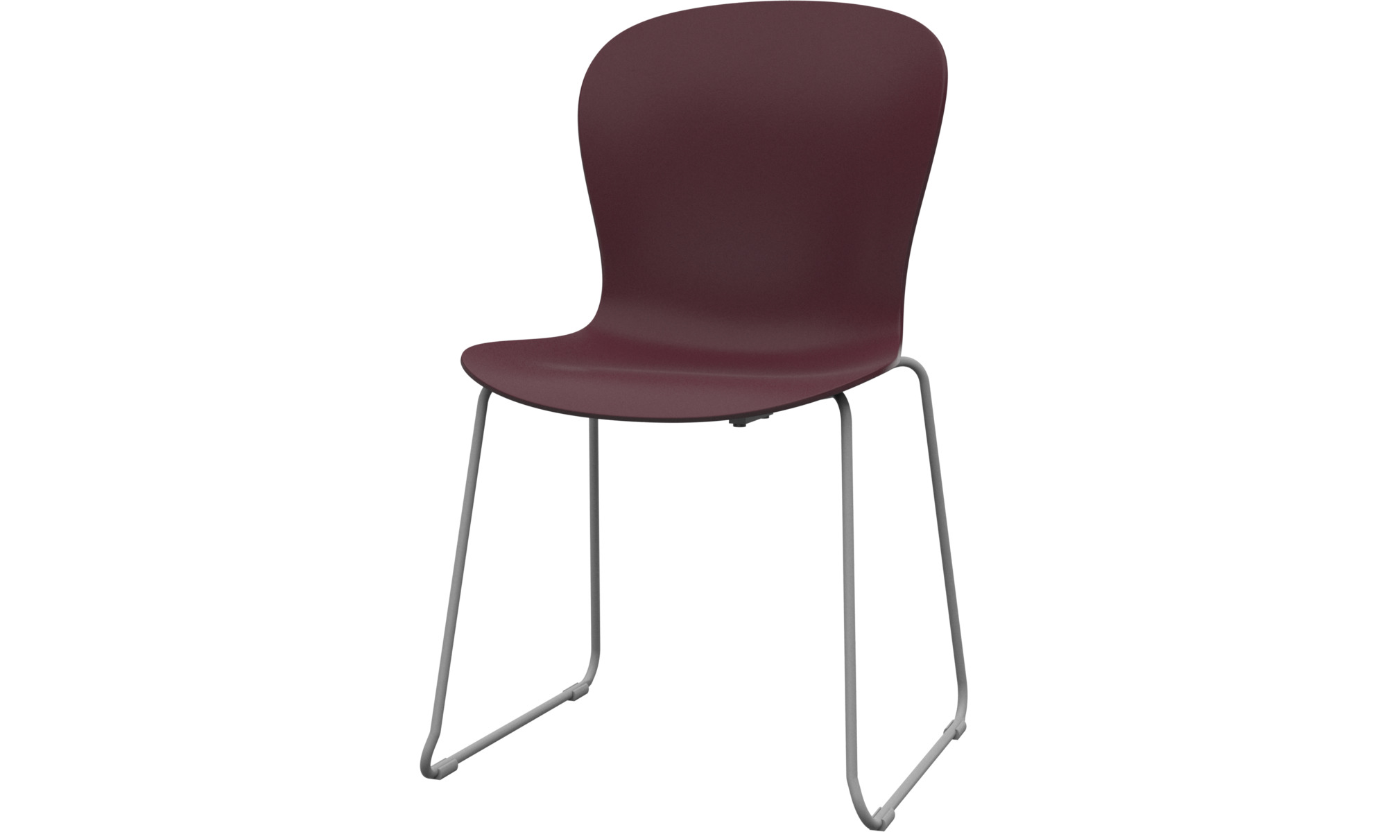 Dining chairs - Adelaide chair (for in and outdoor use) - Red - Plastic