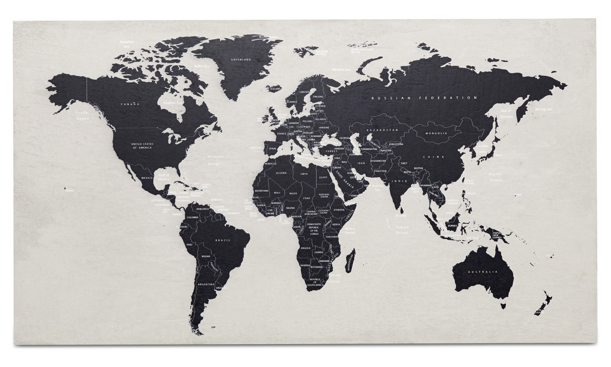 Gallery world map concrete art boconcept gallery world map concrete art grey concrete gumiabroncs