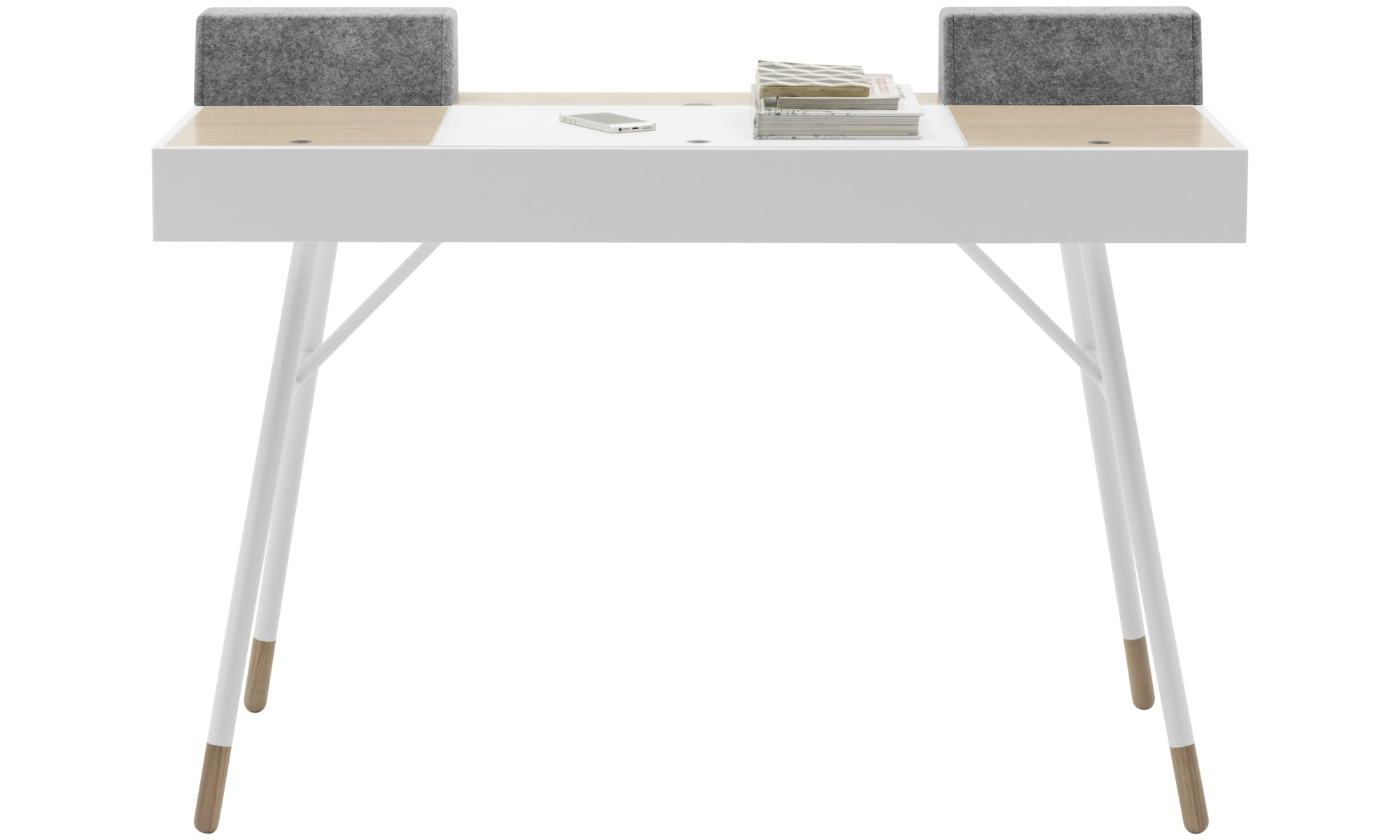 bureau bo concept excellent desks cupertino desk square white lacquered with bureau bo concept. Black Bedroom Furniture Sets. Home Design Ideas