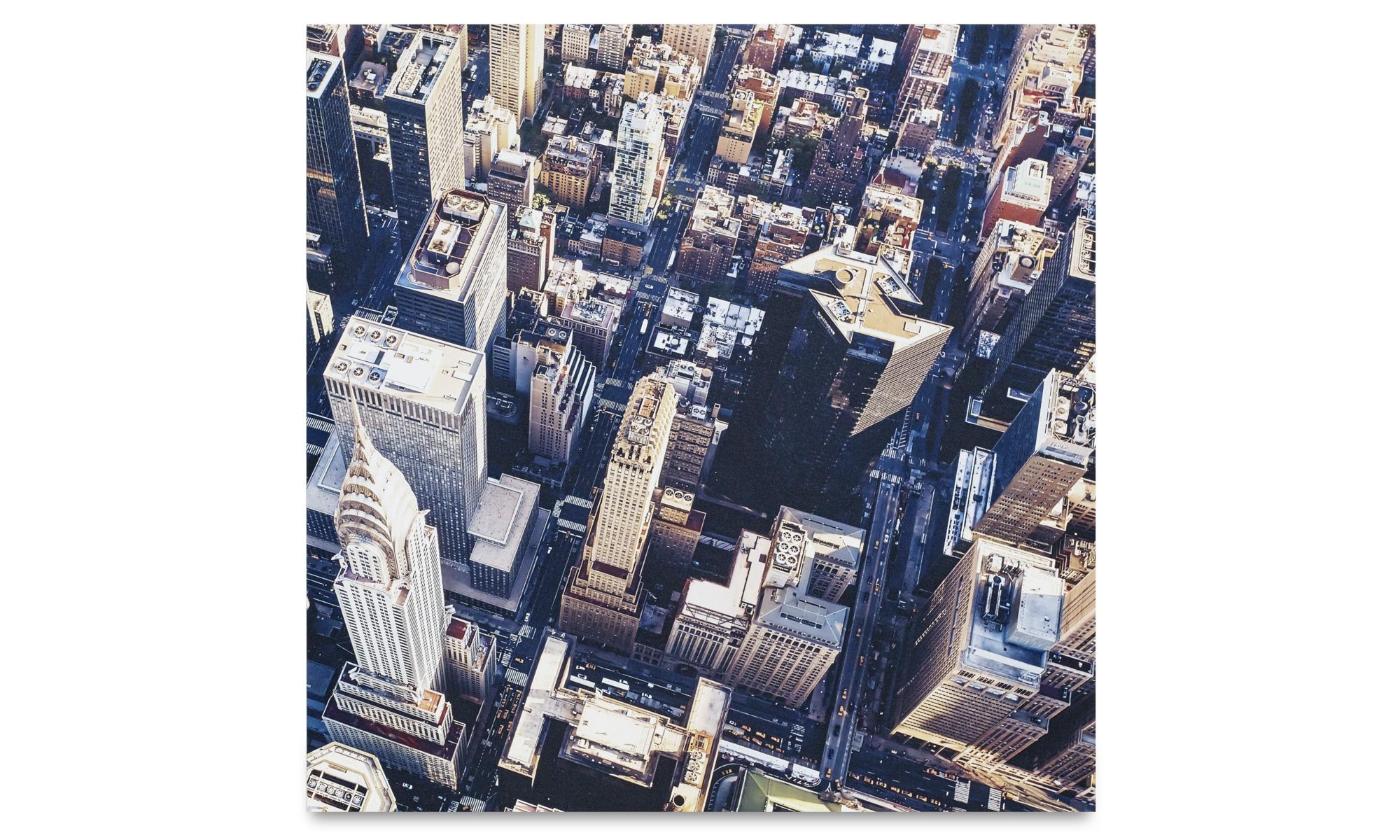 Gallery - City metal print, Manhattan view - Metal