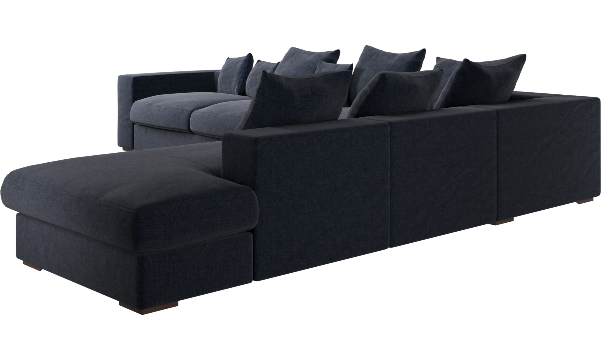 une touche de sophistication canap d 39 angle cenova avec m ridienne boconcept. Black Bedroom Furniture Sets. Home Design Ideas