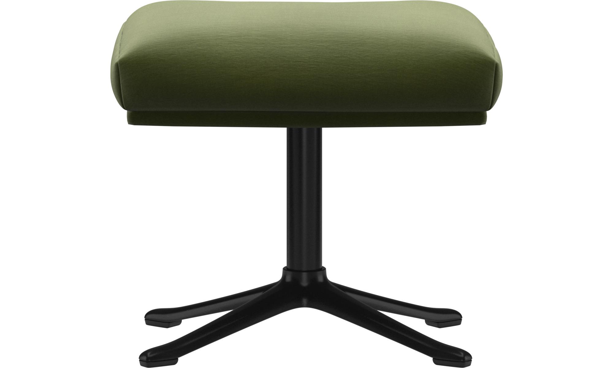 Footstools - Reno footstool - Green - Fabric