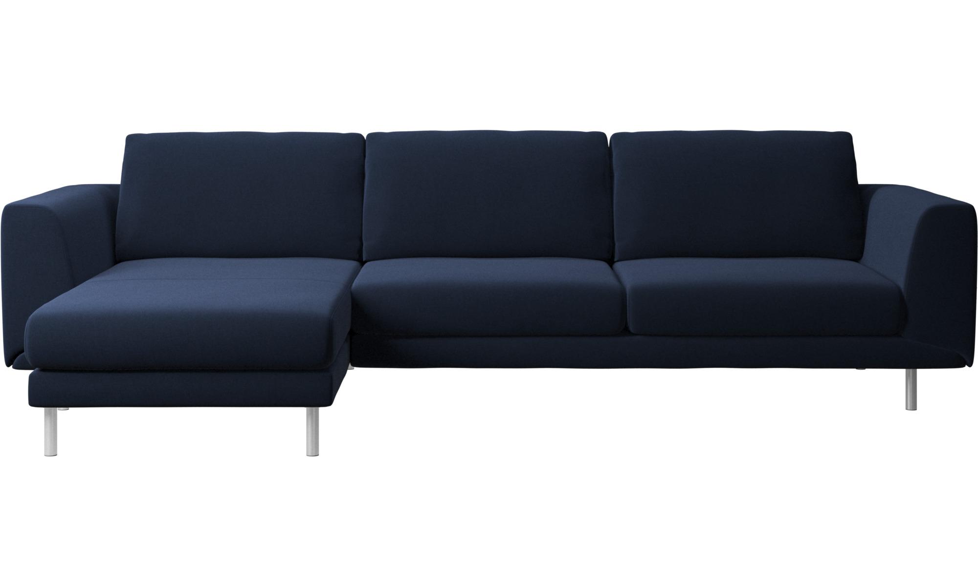 Sof s con chaise longue sof fargo con m dulo chaise for Chaise longue azul turquesa