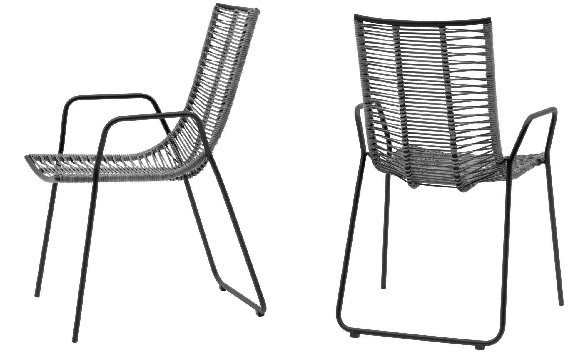 Sillas de exteriores - silla Elba (apta para uso interior y exterior ...