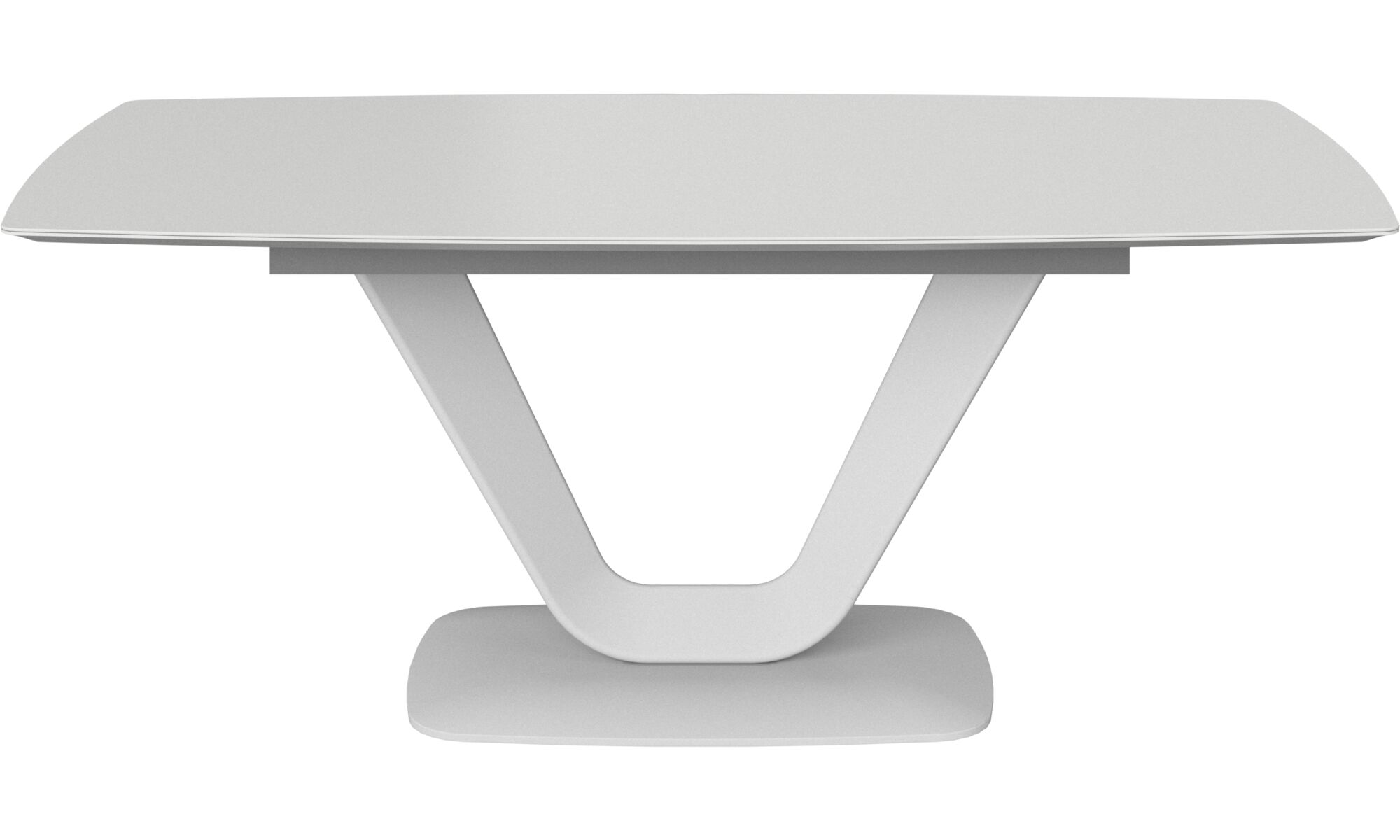 Dining tables - Alicante table - rectangular - White - Lacquered
