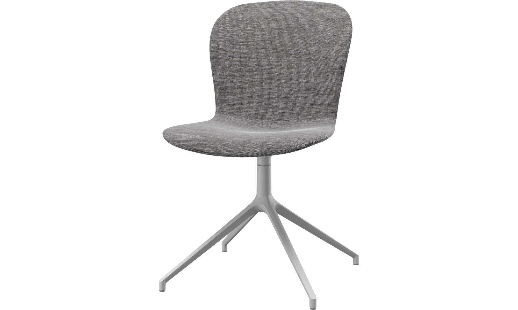 Home Office-Schreibtischstühle - Adelaide Stuhl mit Drehfunktion - Grau - Stoff