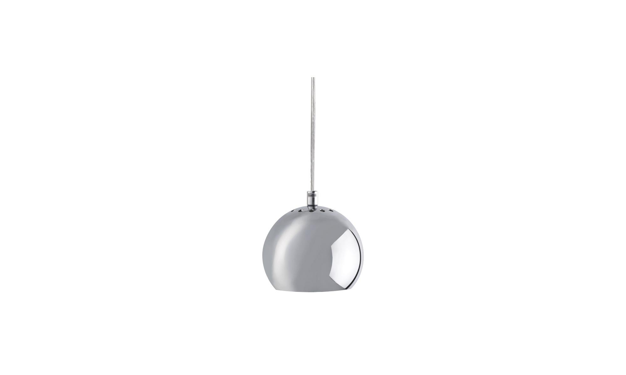 Lampor - Ball taklampa - Grå - Metall