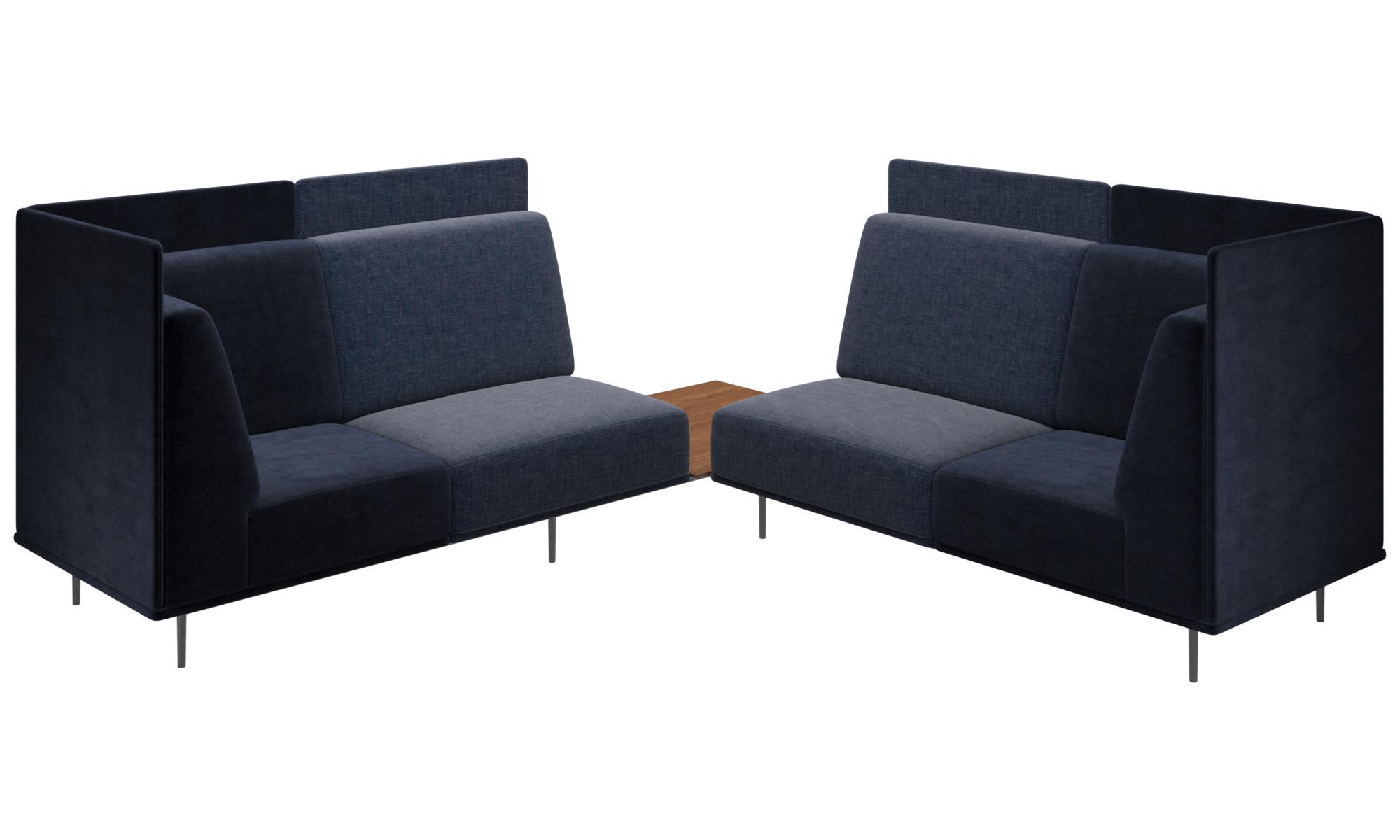 Modulære sofaer - Toulouse sofa - Blå - Stof