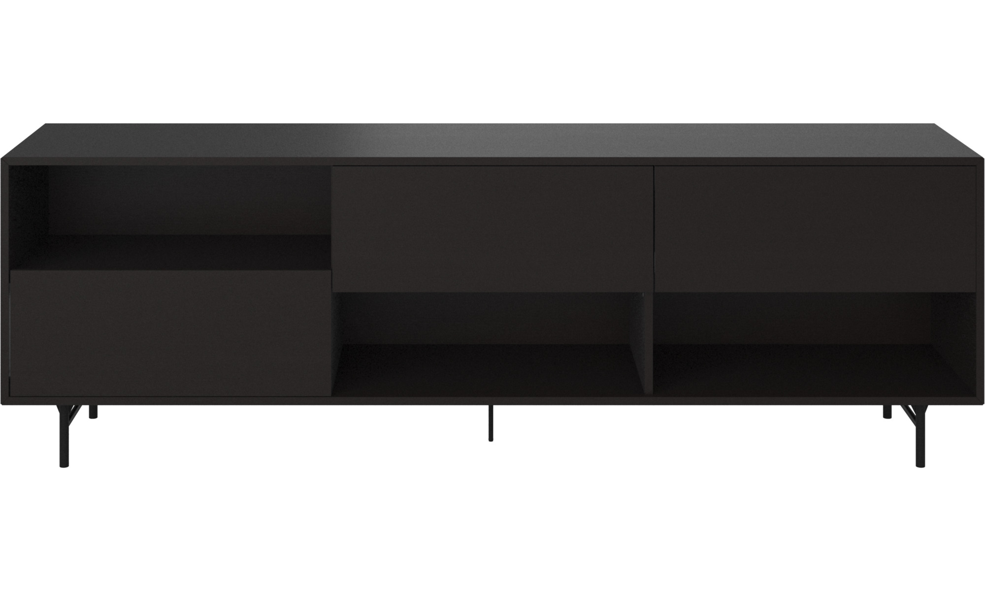 Sideboards - Manhattan sideboard - Black - Lacquered