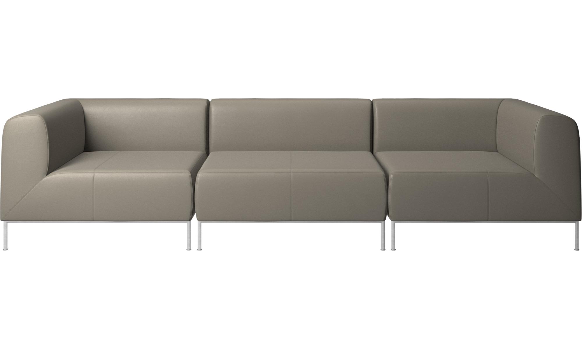 Modulære sofaer - Miami sofa - Grå - Læder