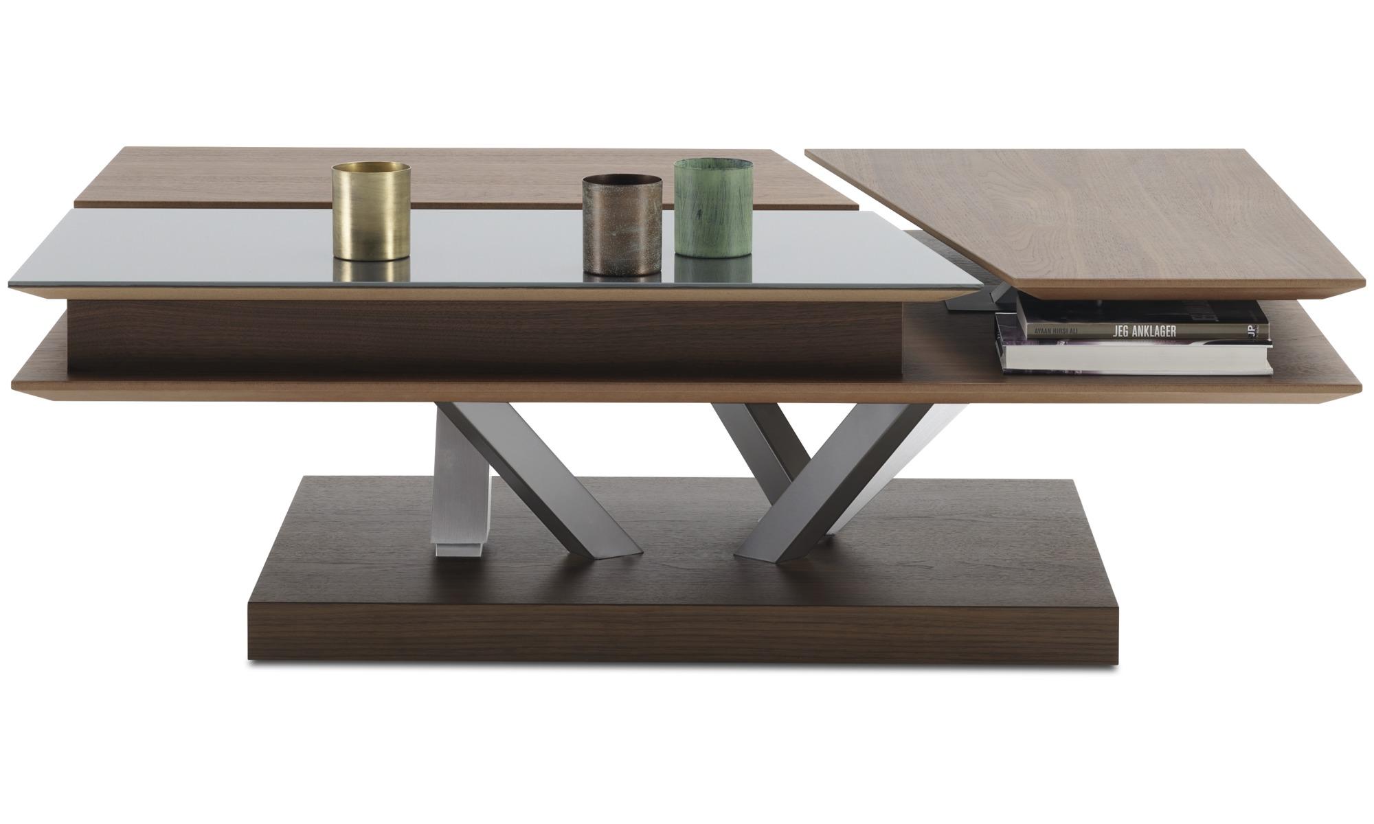 Mesas de centro mesa de centro funcional barcelona con for Mesas diseno barcelona