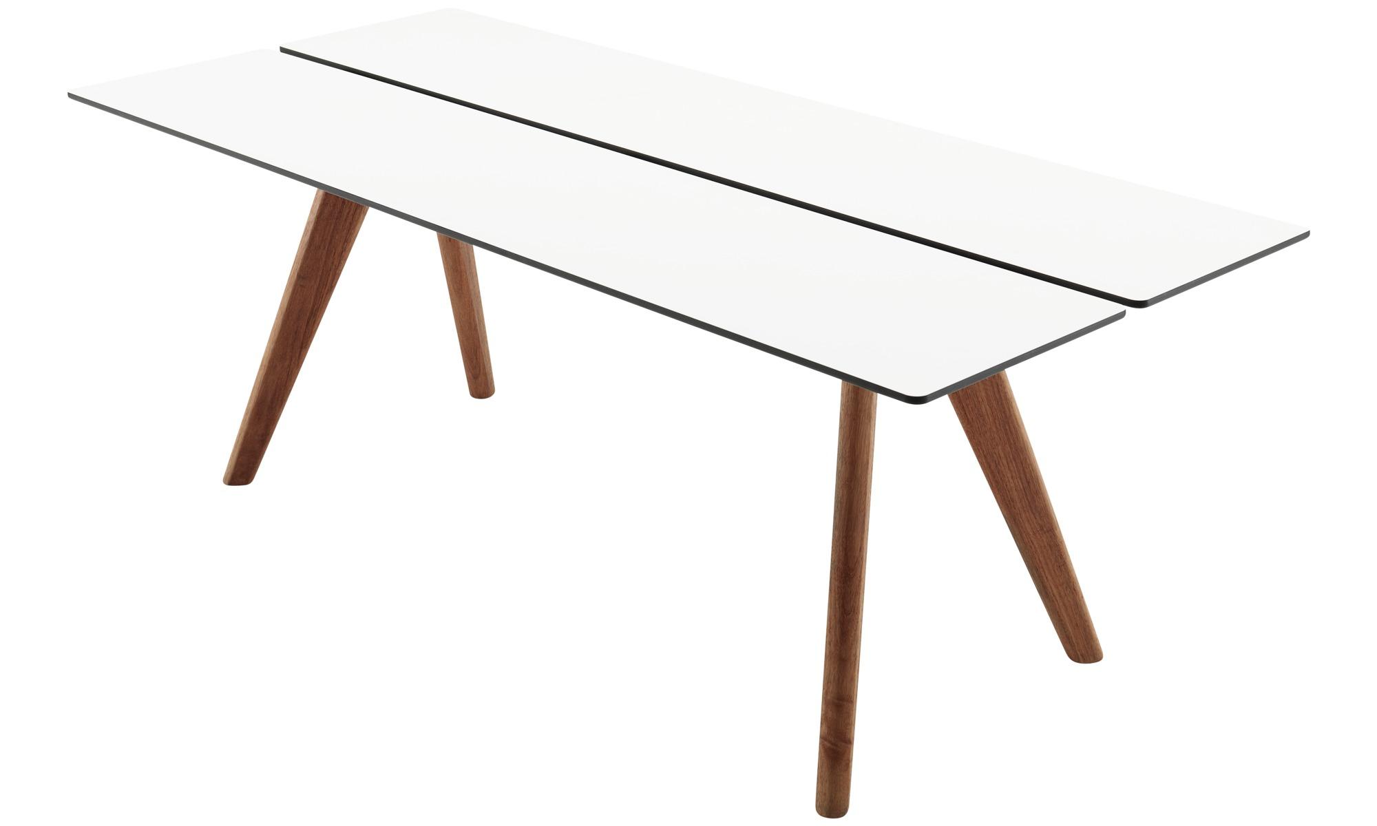 gartentische adelaide tisch f r den innen und au enbereich geeignet boconcept. Black Bedroom Furniture Sets. Home Design Ideas