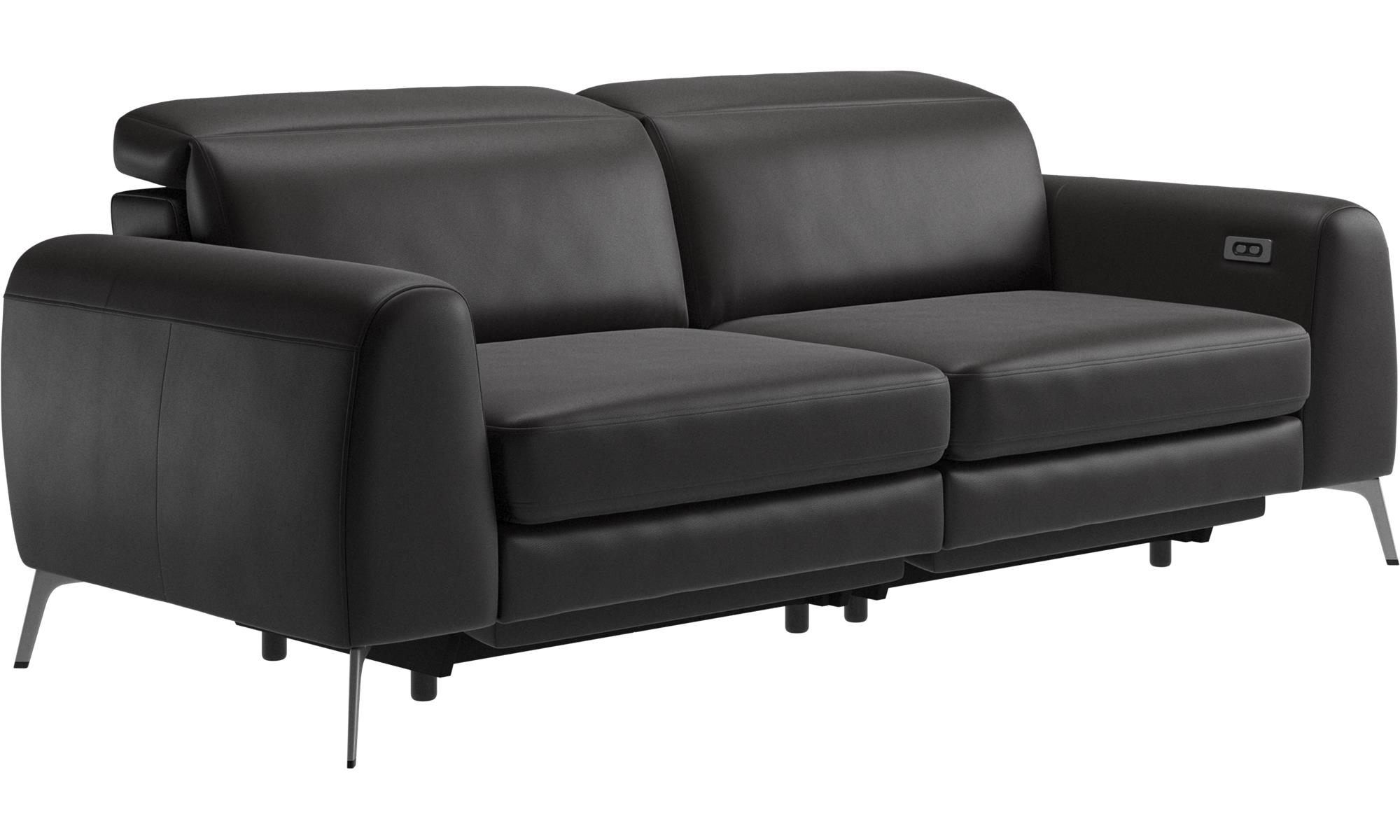 3 Seater Sofas Madison Sofa With Electric Seat Head And Footrest Motion Transformer