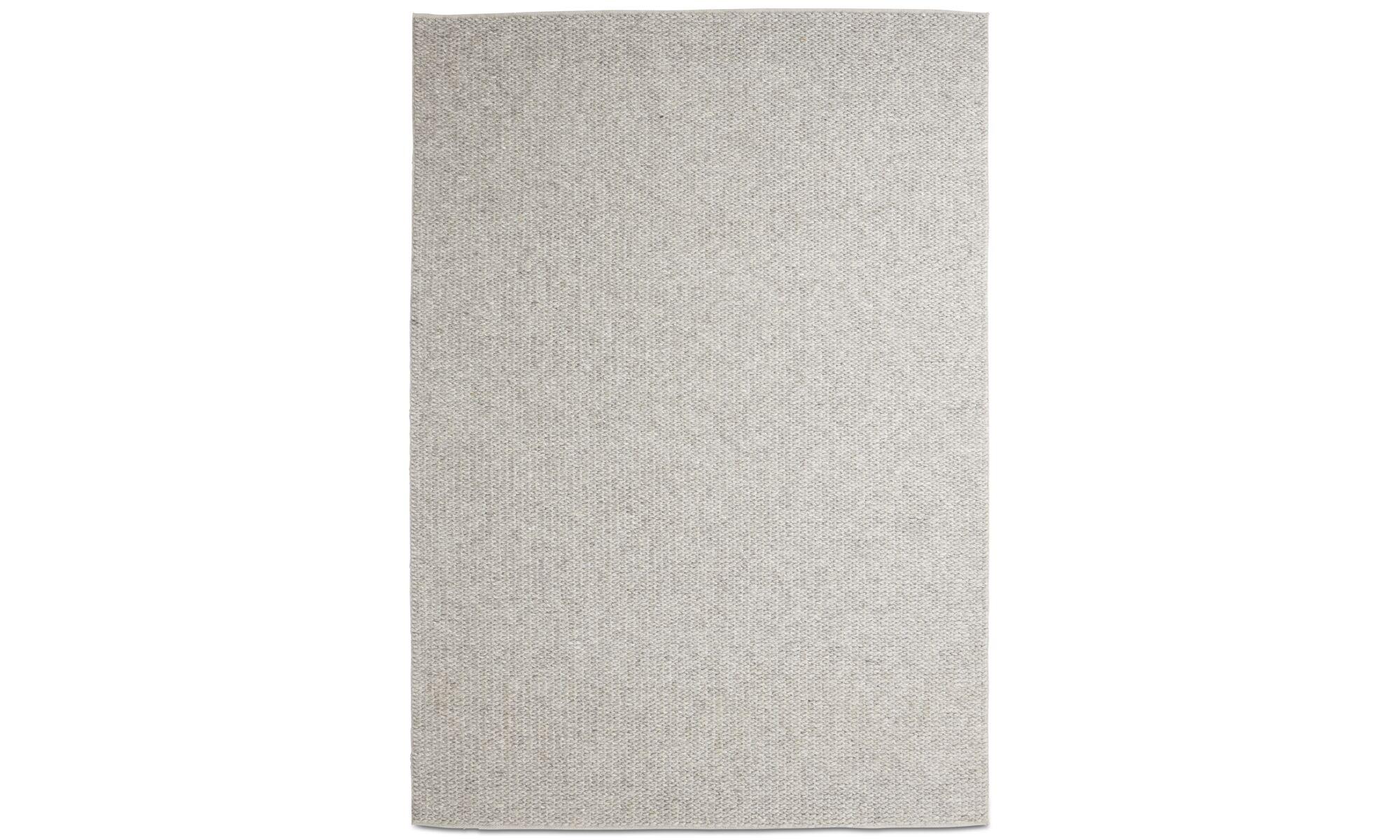 Teppiche - Scandinavia Teppich - rechteckig - Grau - Wolle