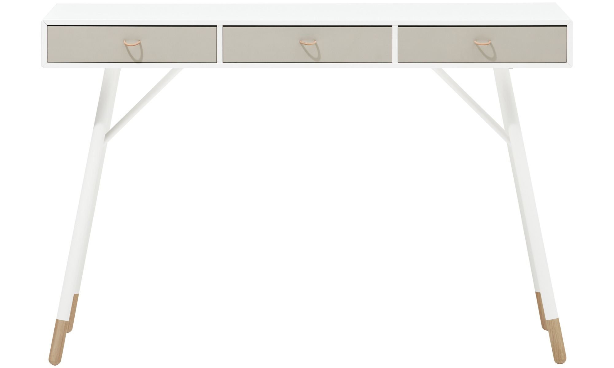 Hallway furniture - Cupertino console table - rectangular - White - Lacquered