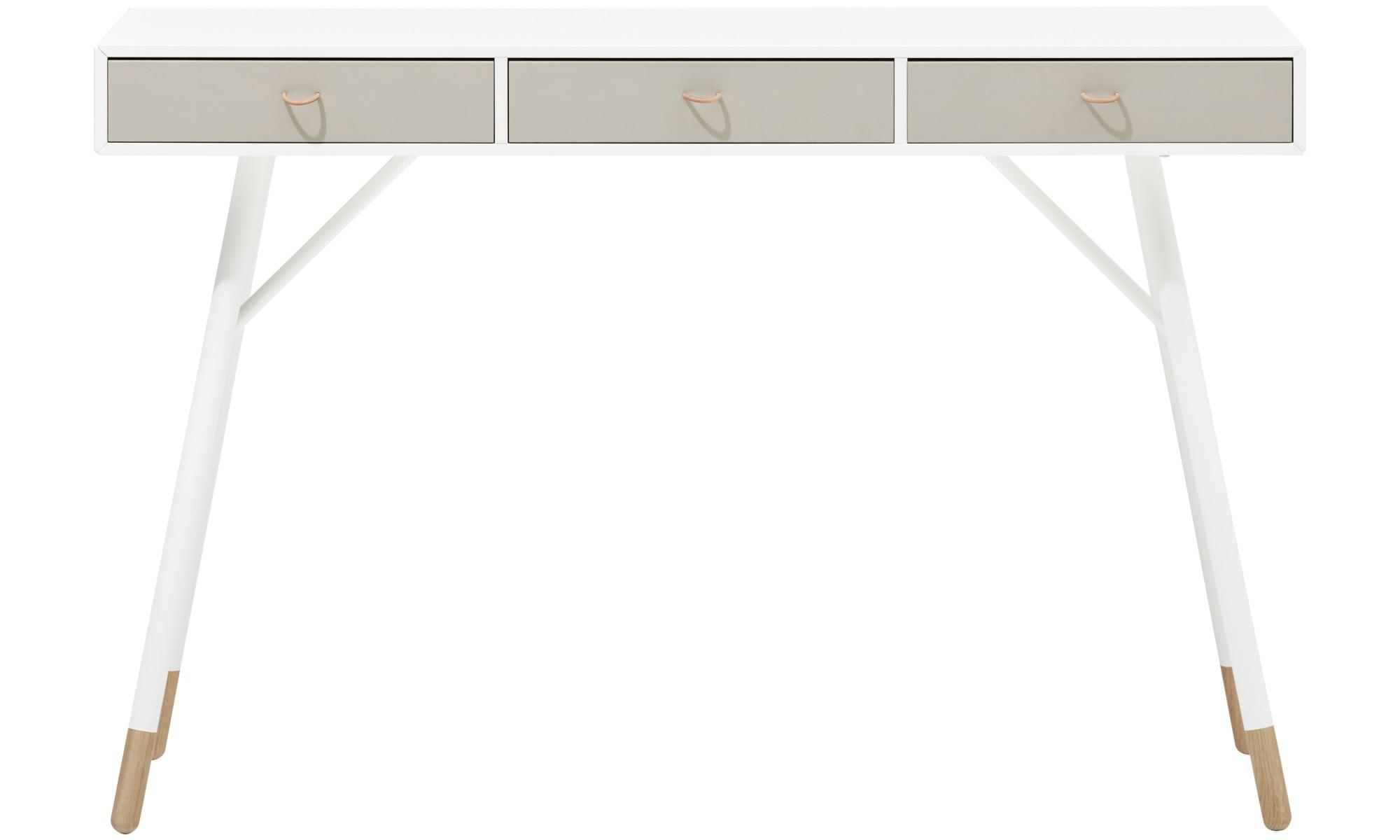 Meble do przedpokoju - Konsola Cupertino - prostokątny - Biały - Lakier