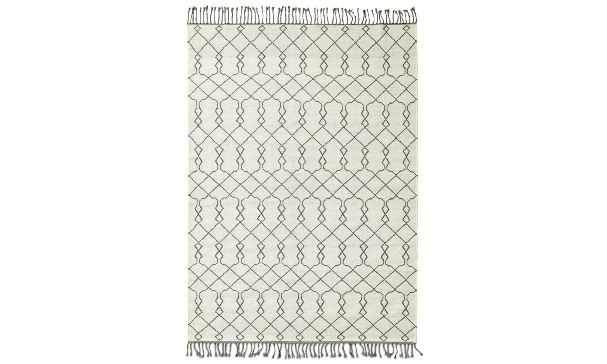 Dywany - Dywan Stroc - prostokątny - Biały - Tkanina