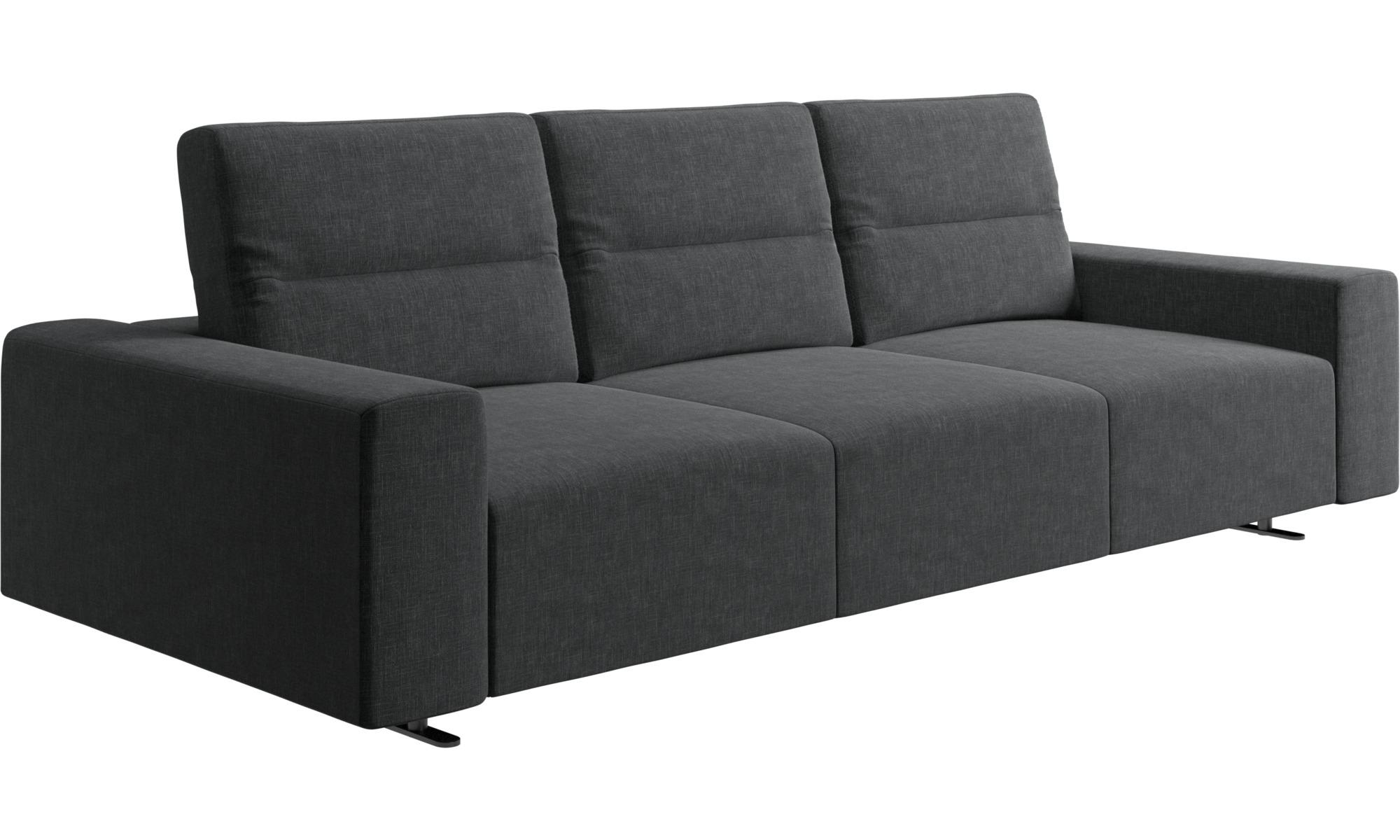 canap hampton avec dossier ajustable et espace de rangement c t droit boconcept. Black Bedroom Furniture Sets. Home Design Ideas