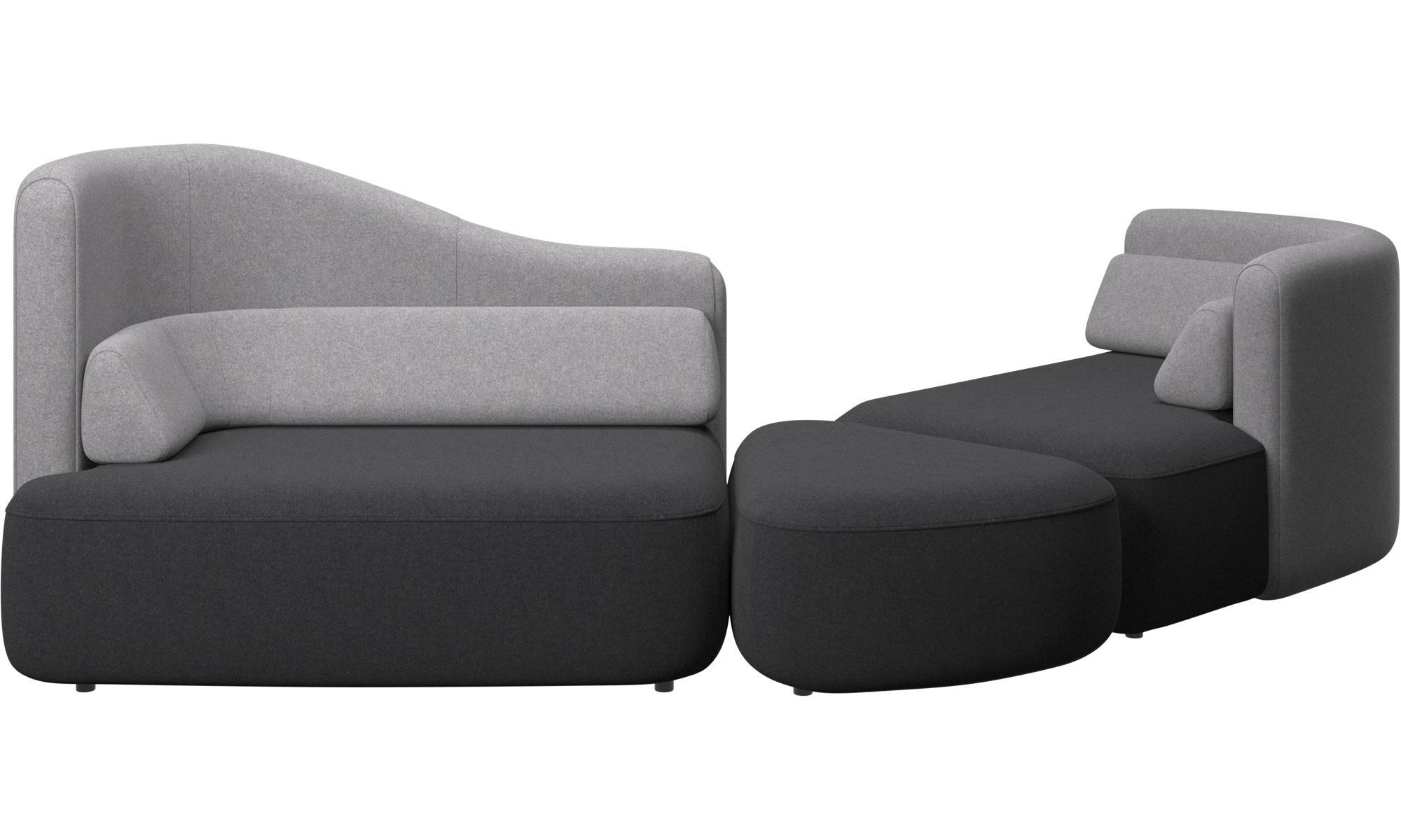 Modular sofas - Ottawa sofa - Grey - Fabric