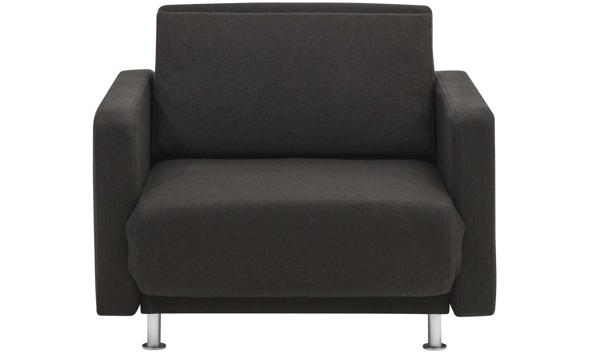 Armchairs   Melo 2 Armchair With Reclining And Sleeping Function   Black    Fabric ...