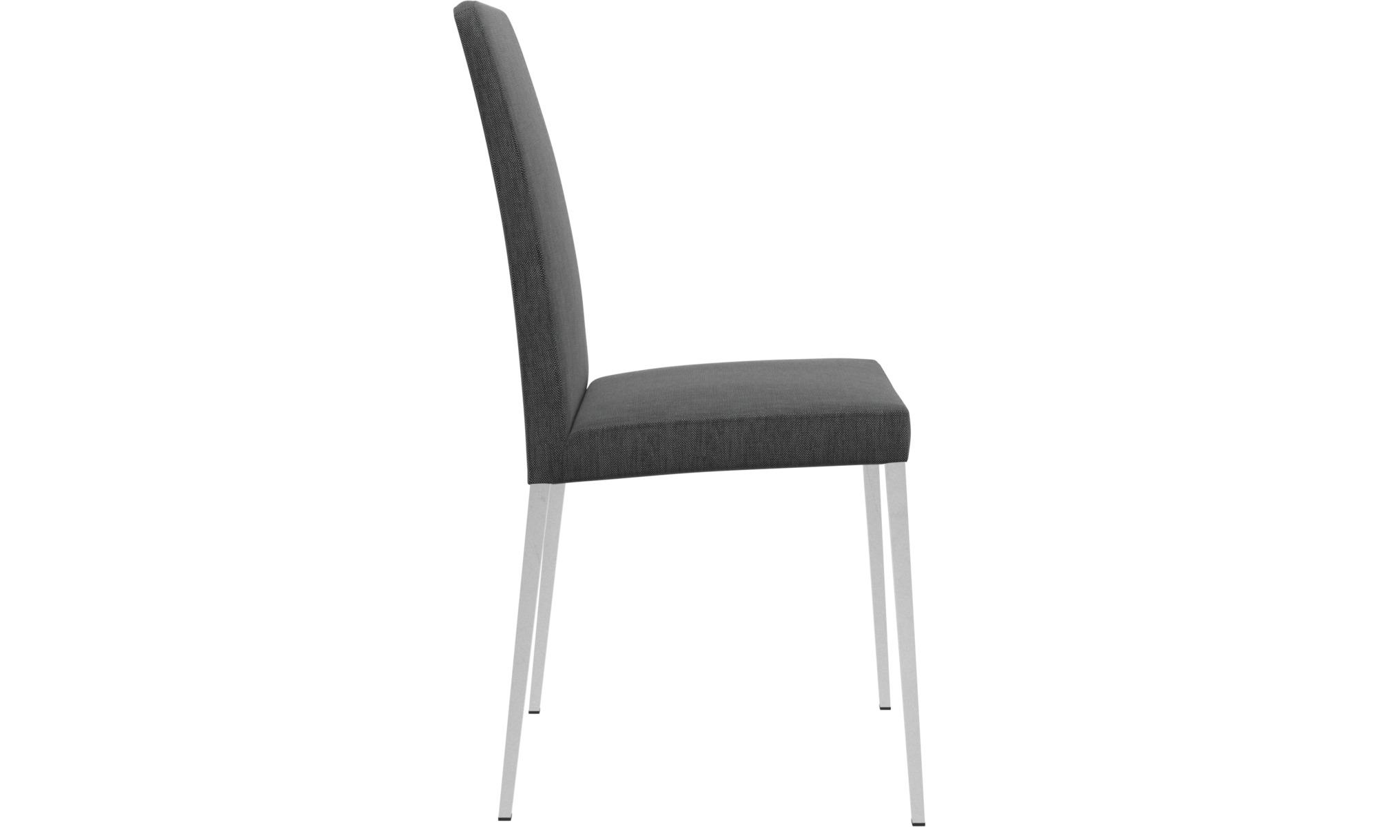 Stuhl grau stoff elegant cool stuhl holzbeine ger pl sk - Boconcept stuhle ...