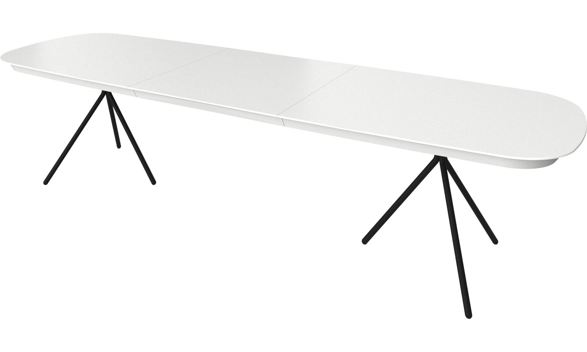 Dining tables - Ottawa table with supplementary tabletop - BoConcept