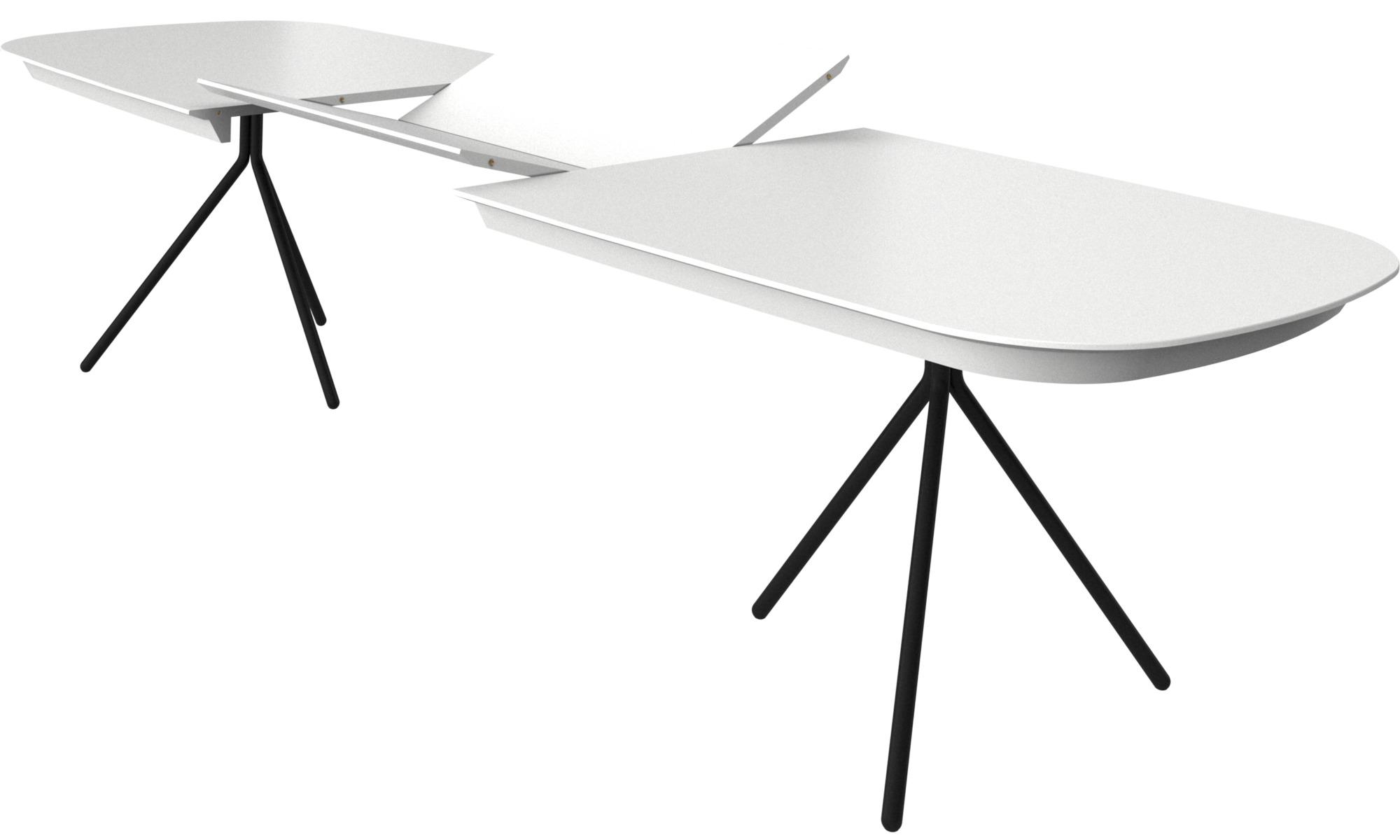 esstische ottawa tisch mit zusatztischplatte boconcept. Black Bedroom Furniture Sets. Home Design Ideas