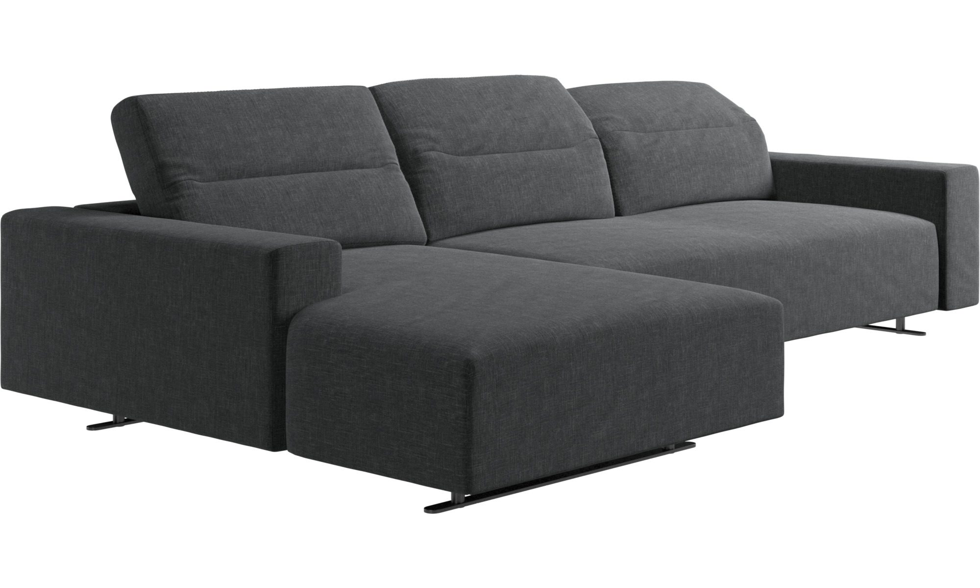 Picture of: Chaise Lounge Sofas Hampton Sofa With Adjustable Back And Resting Unit Left Side Storage Right Side Boconcept