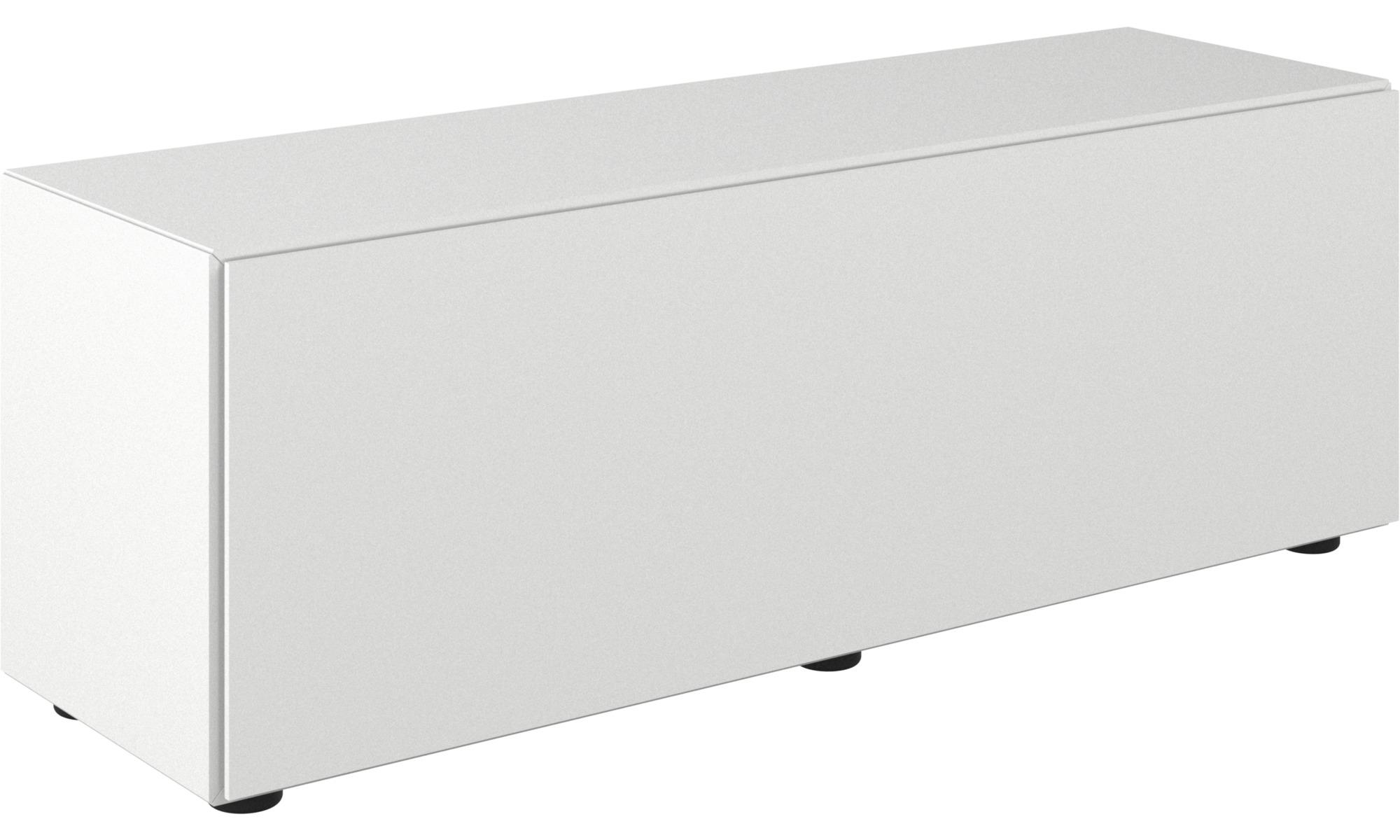 tv m bel lugano basiskombination mit klappt r boconcept. Black Bedroom Furniture Sets. Home Design Ideas