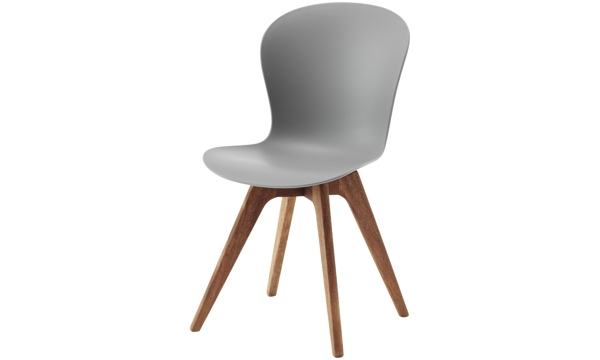 Dining chairs - Adelaide chair (for in and outdoor use) - Grey - Plastic