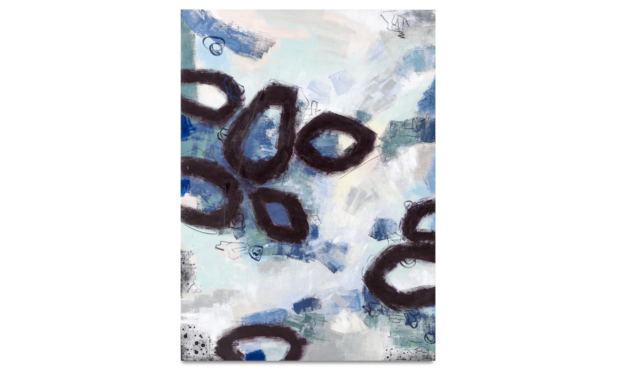 Galeria - Obraz olejny Blue shadow - Drewno